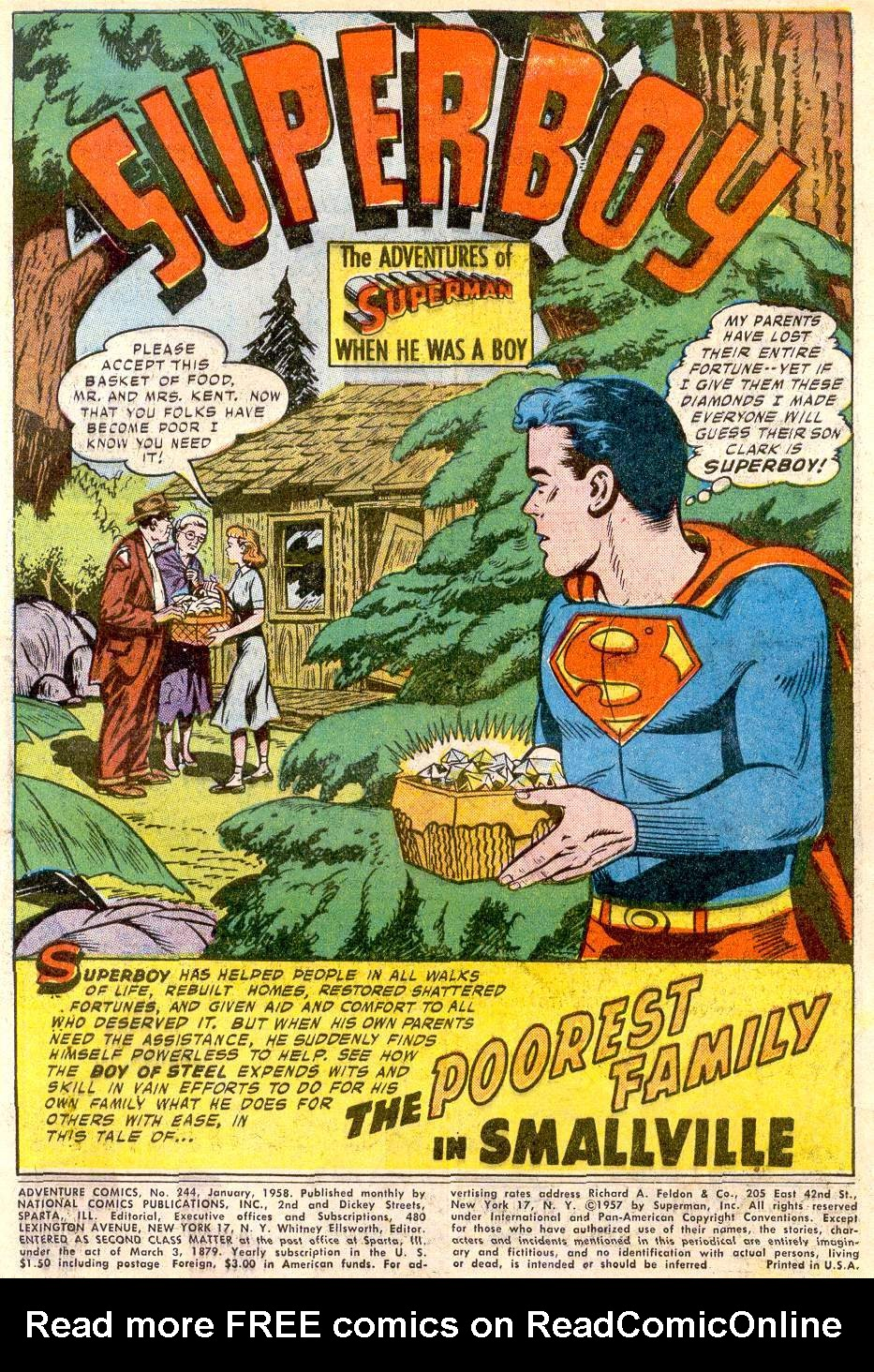 Read online Adventure Comics (1938) comic -  Issue #244 - 3