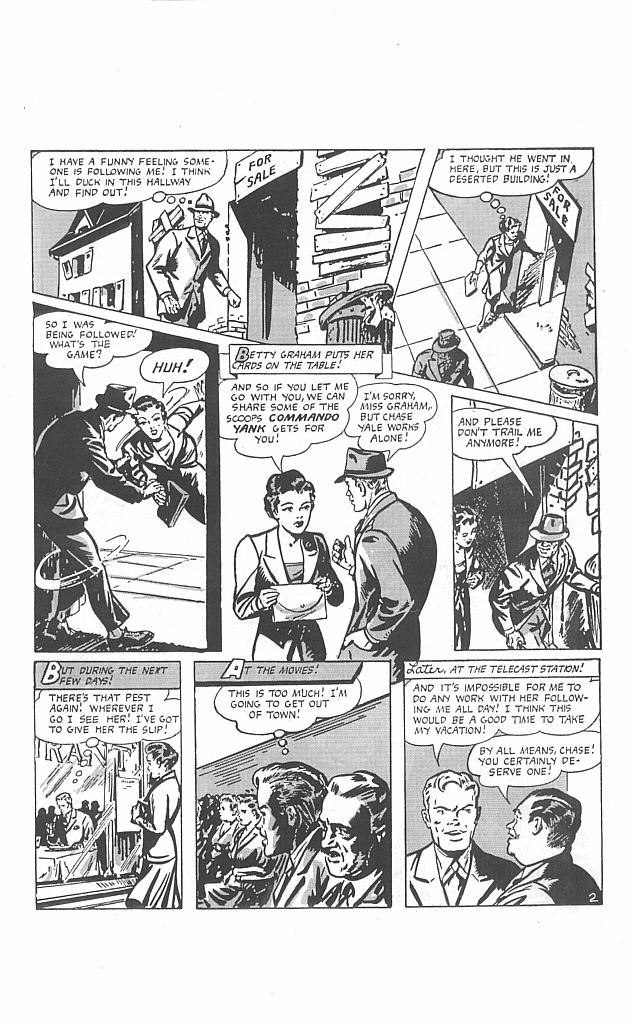 Comic Golden-Age Men of Mystery issue 4