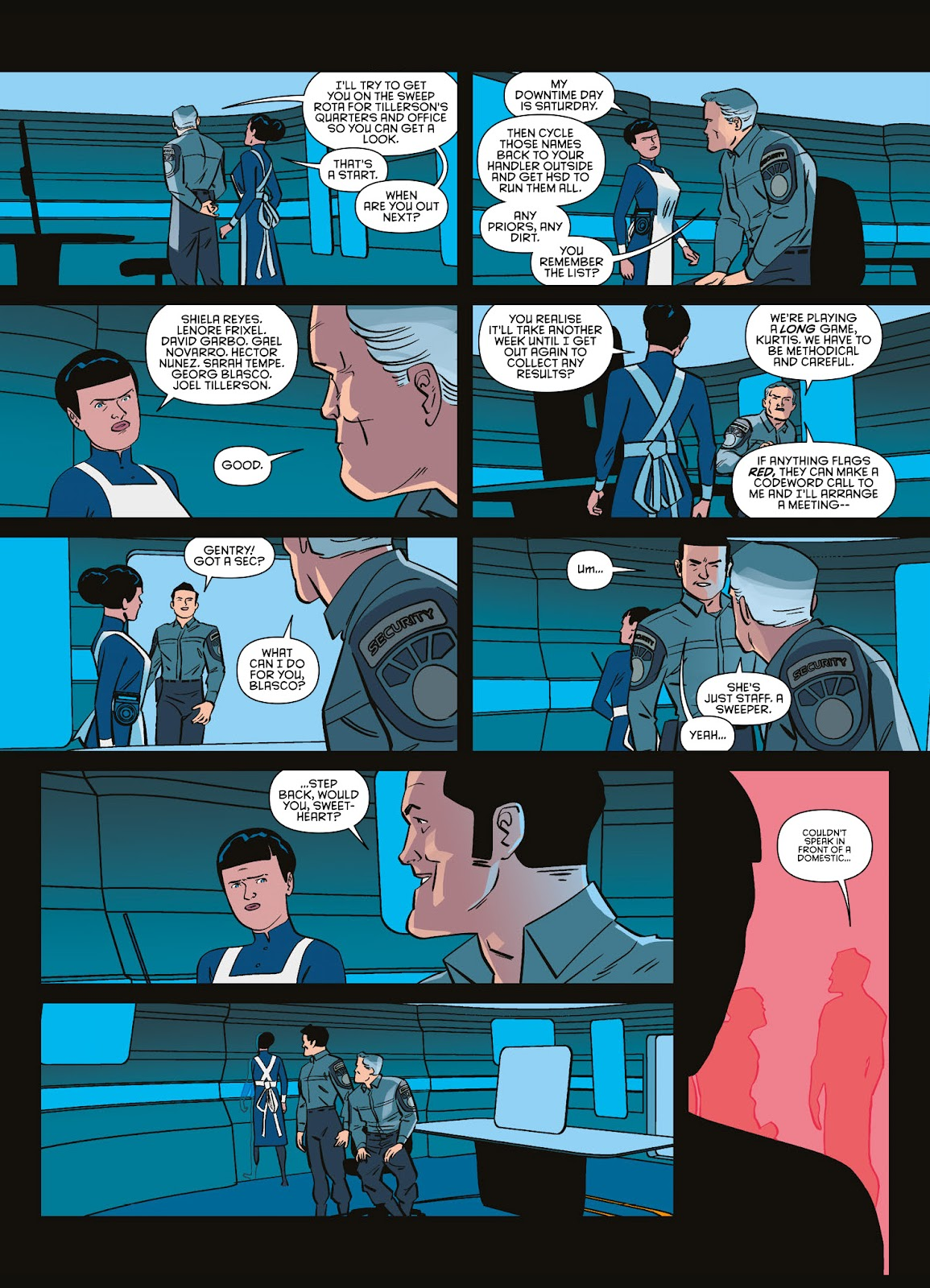 Read online Brink comic -  Issue # TPB 3 - 16