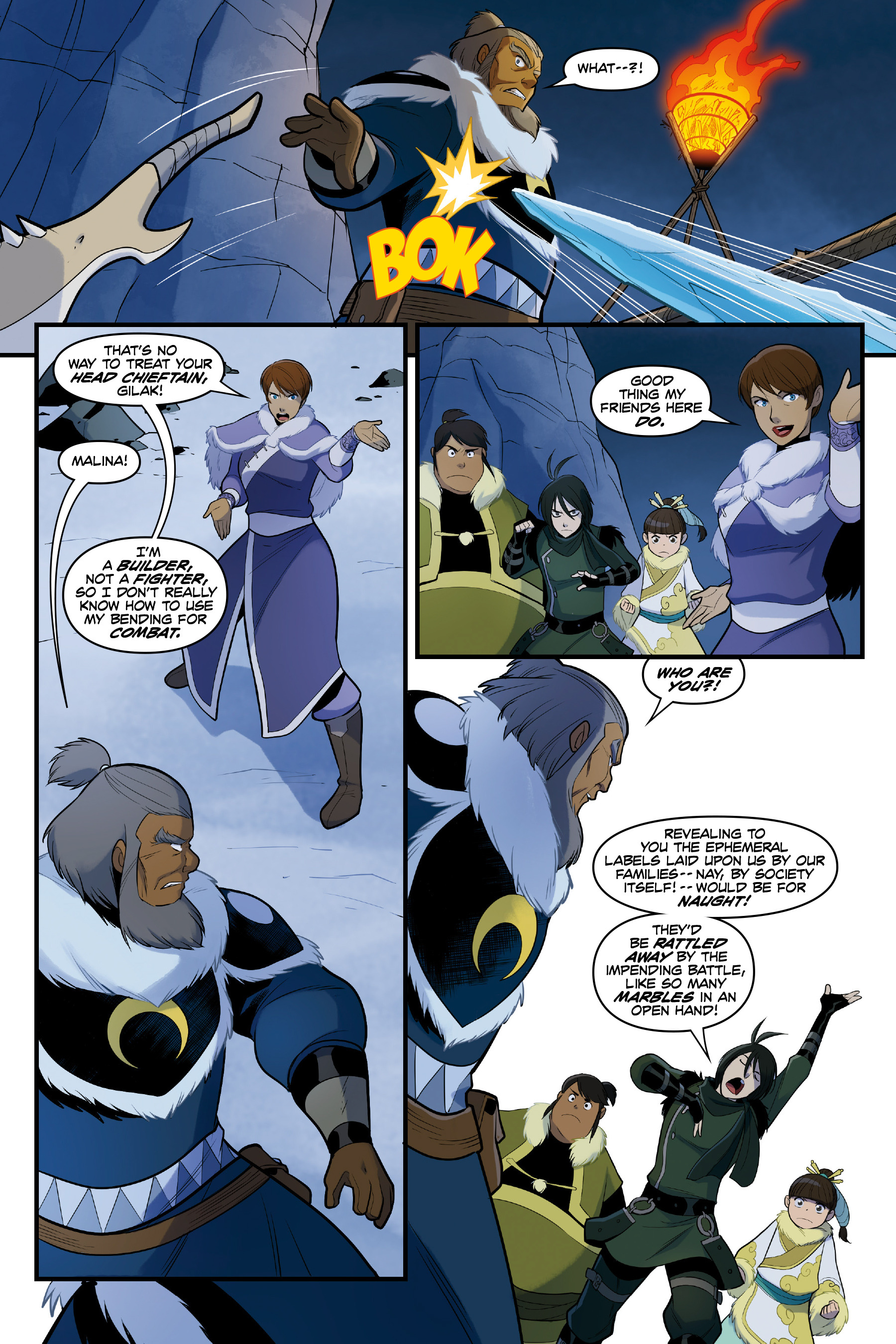 Read online Nickelodeon Avatar: The Last Airbender - North and South comic -  Issue #3 - 54