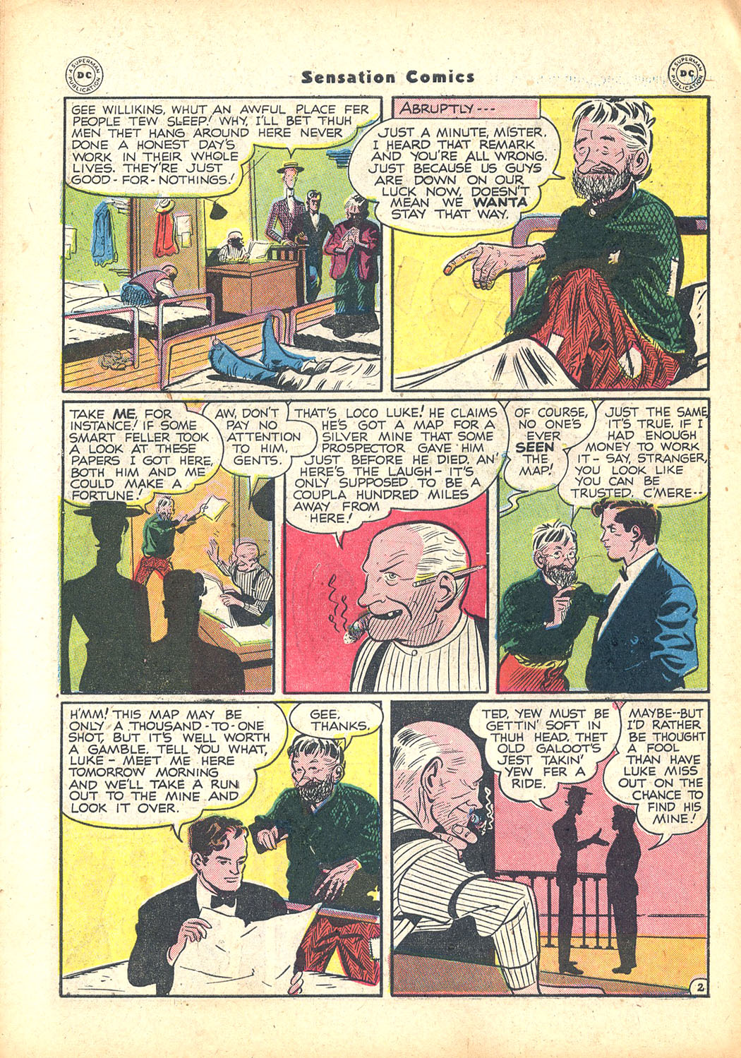 Read online Sensation (Mystery) Comics comic -  Issue #63 - 42