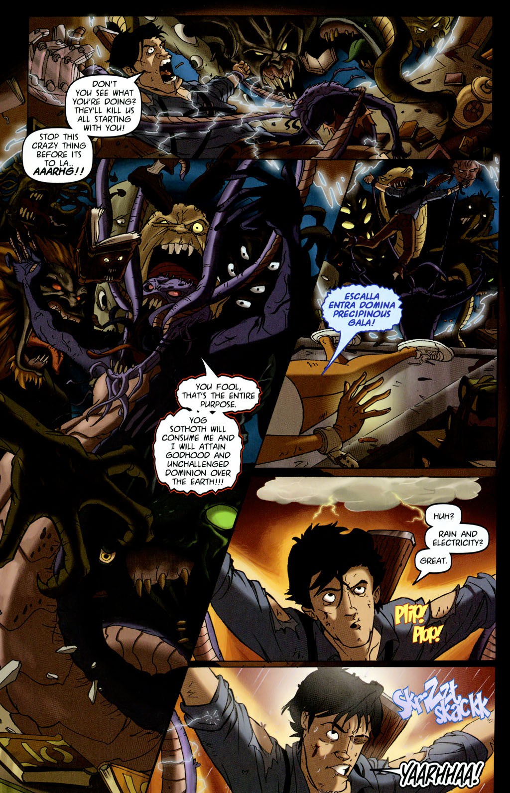 Read online Army of Darkness vs. Re-Animator comic -  Issue #4 - 23