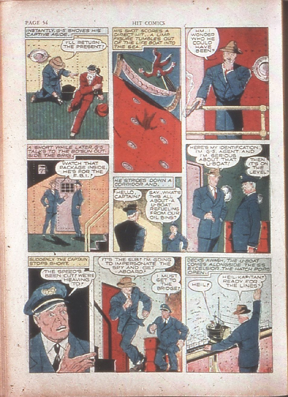 Read online Hit Comics comic -  Issue #15 - 56