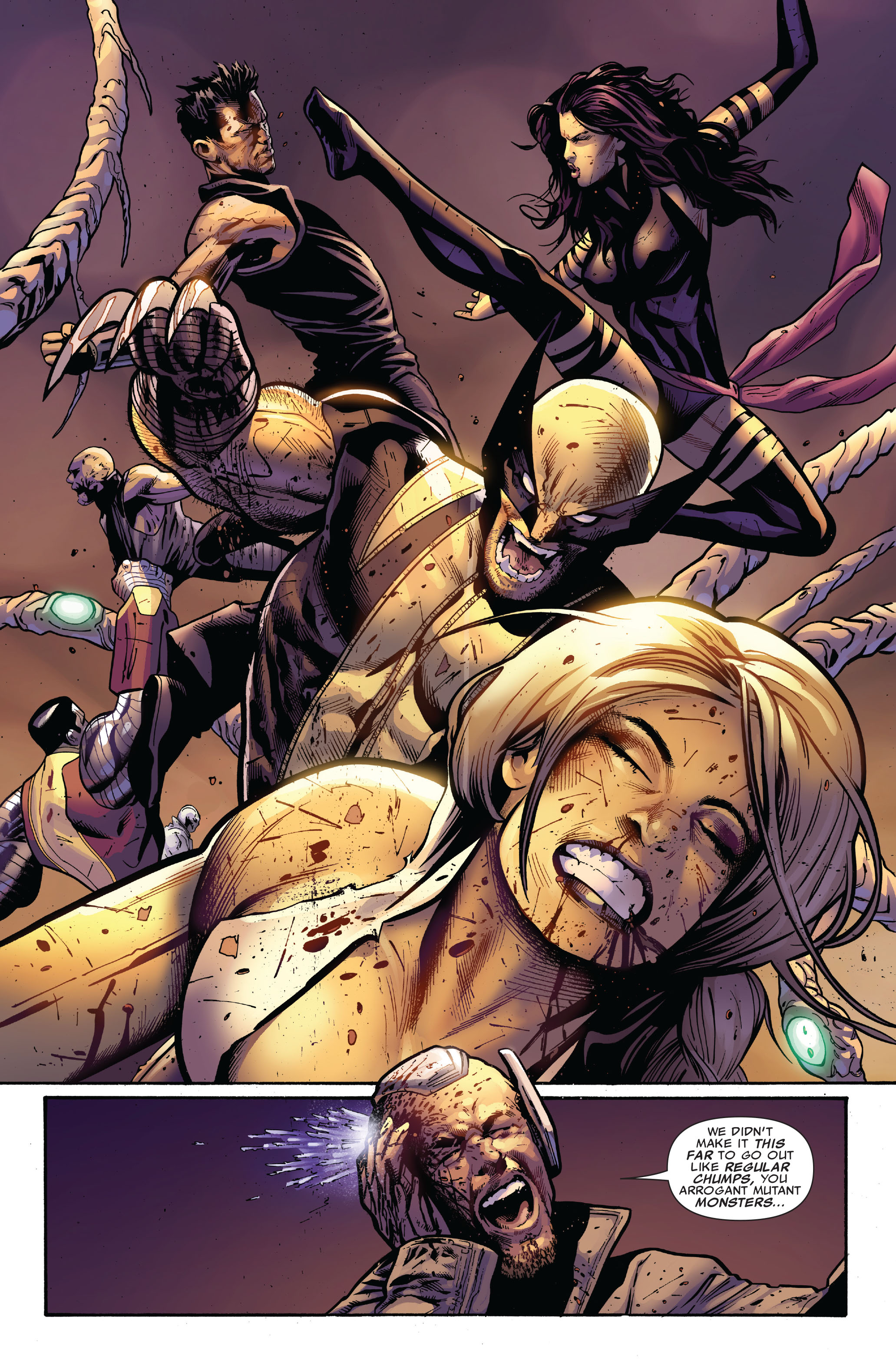 Read online Uncanny X-Men (1963) comic -  Issue #521 - 15