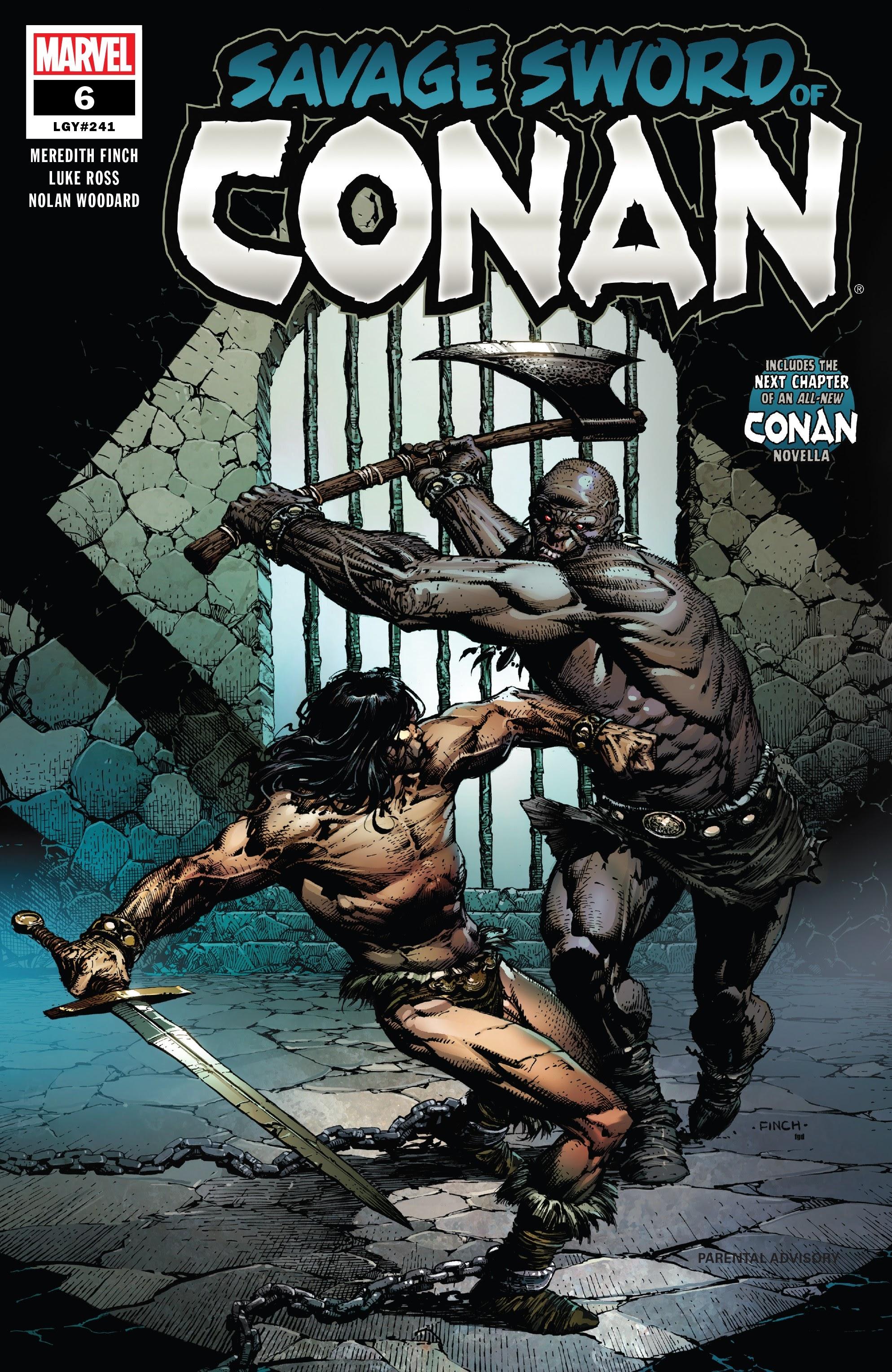 Read online Savage Sword of Conan comic -  Issue #6 - 1