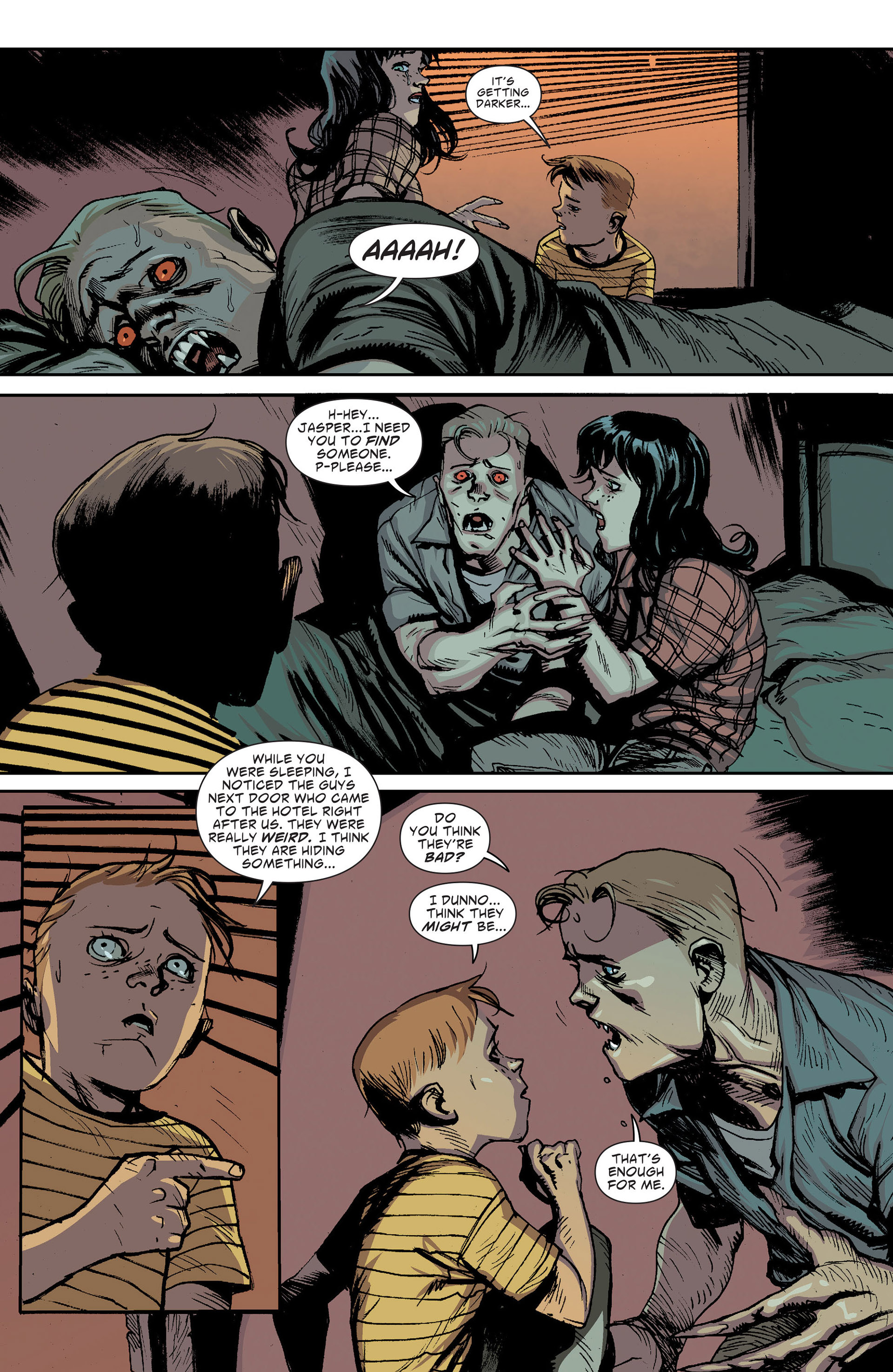 Read online American Vampire: The Long Road To Hell comic -  Issue # Full - 33