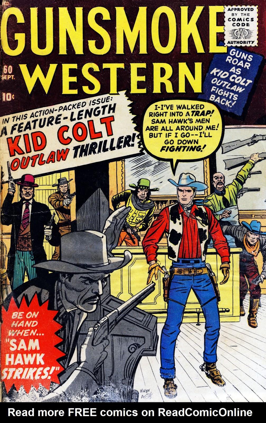 Gunsmoke Western issue 60 - Page 1