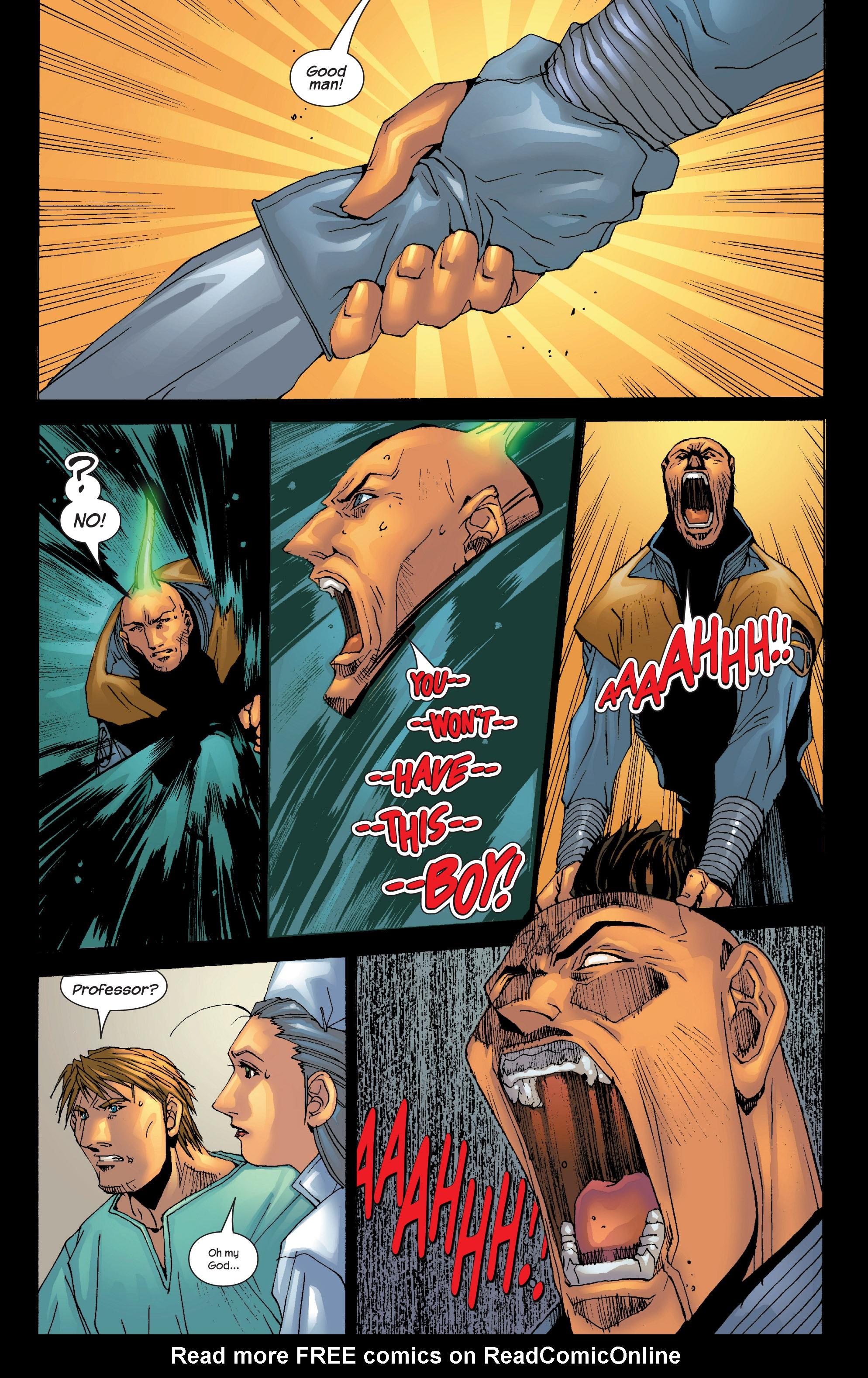 Read online Uncanny X-Men (1963) comic -  Issue #419 - 18