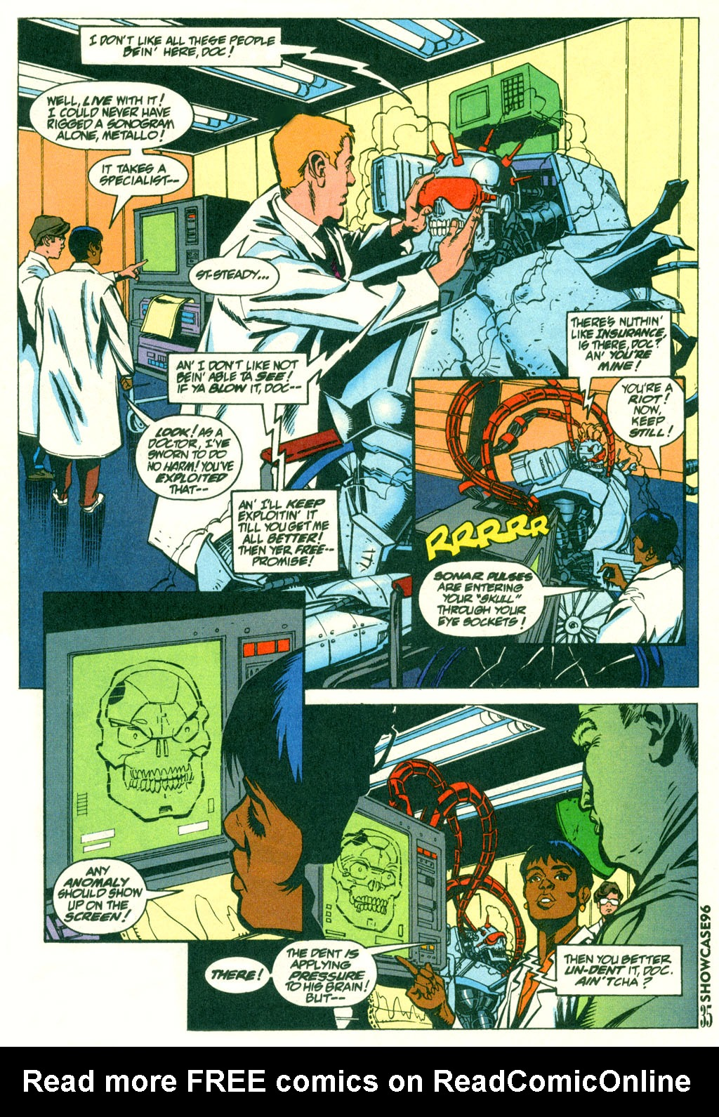 Read online Showcase '96 comic -  Issue #2 - 33