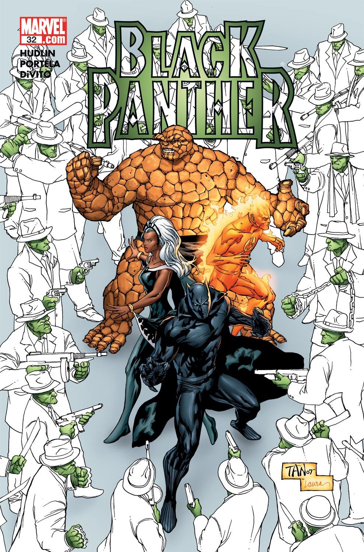 Black Panther (2005) 32 Page 1