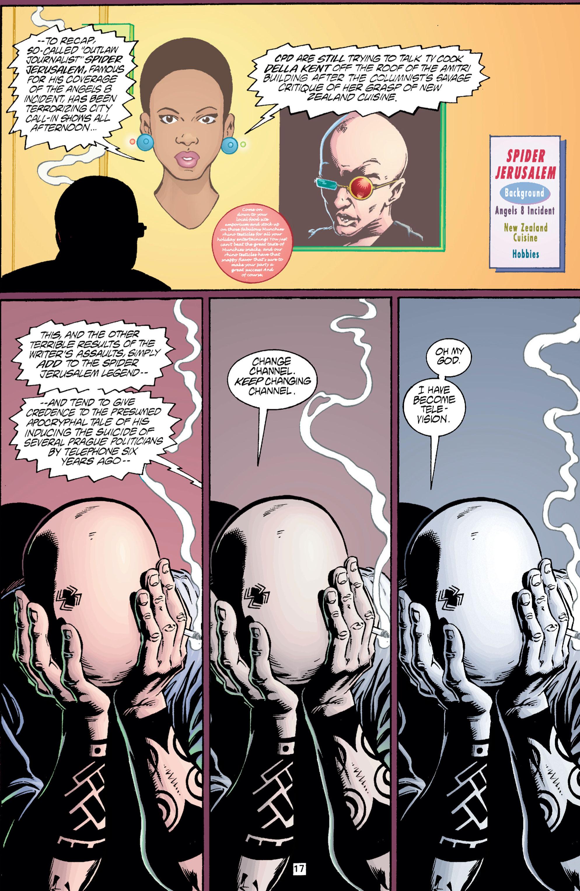 Read online Transmetropolitan comic -  Issue #5 - 18