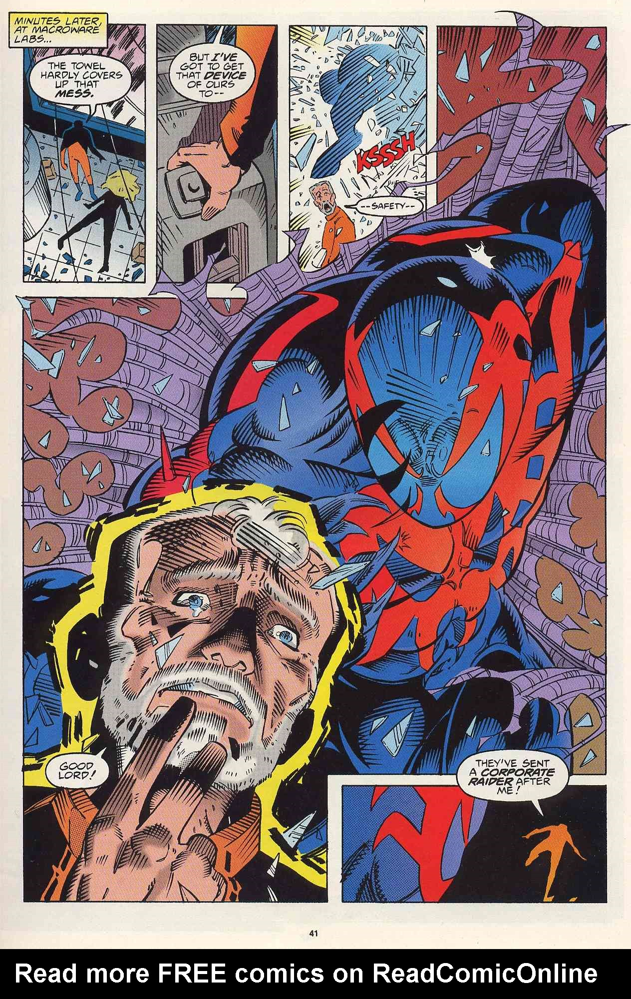 Read online 2099 Unlimited comic -  Issue #2 - 35