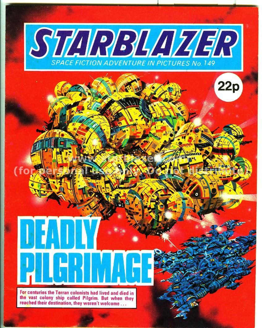Starblazer issue 149 - Page 1