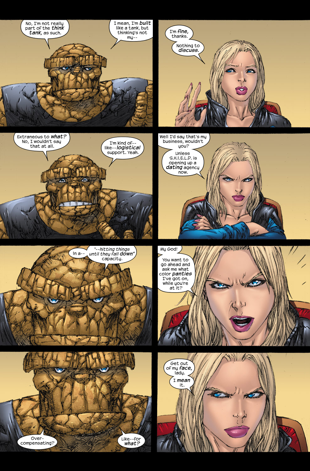 Read online Ultimate Fantastic Four (2004) comic -  Issue #54 - 17