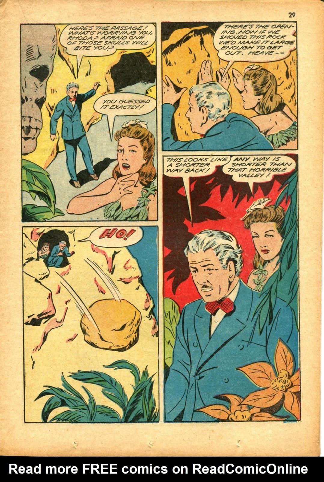 Read online Super-Magician Comics comic -  Issue #15 - 29