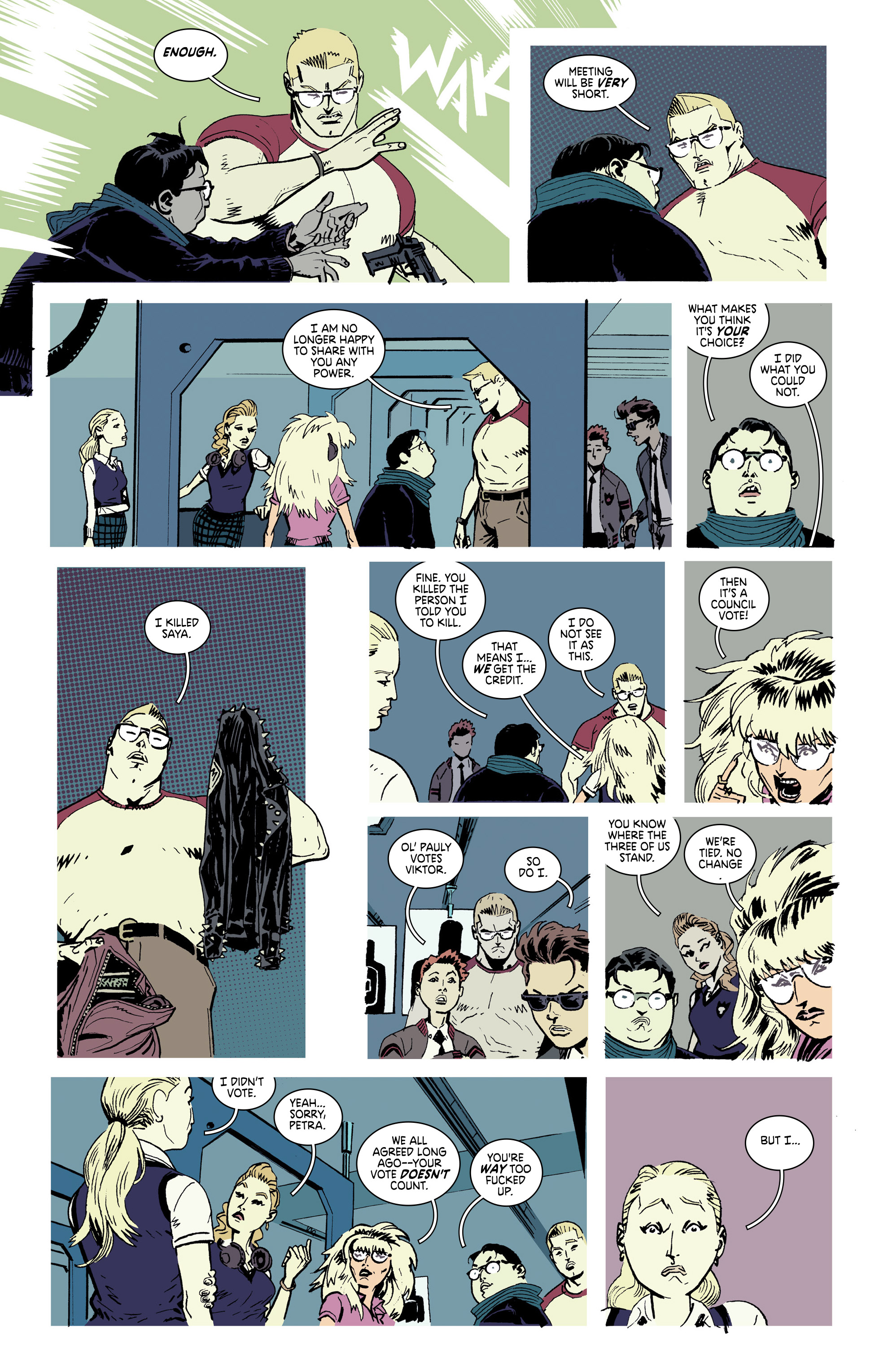Read online Deadly Class comic -  Issue #28 - 16