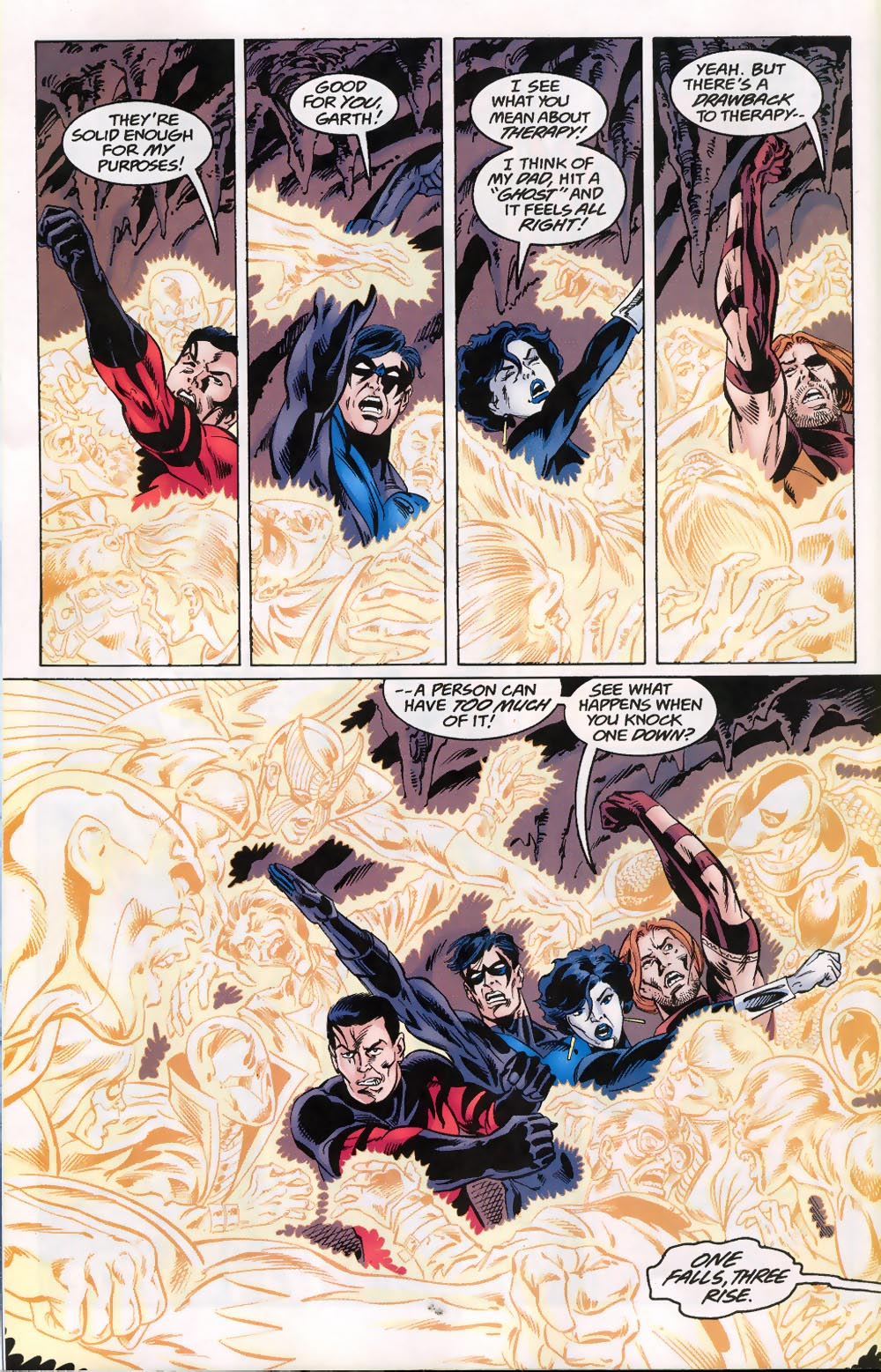 Read online The Titans (1999) comic -  Issue #46 - 13