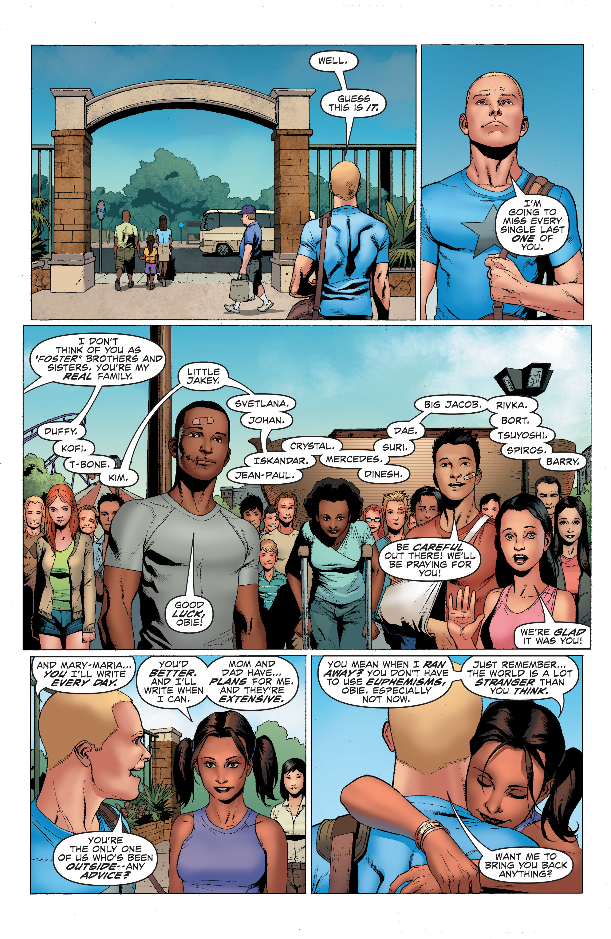 Read online Archer and Armstrong comic -  Issue #Archer and Armstrong _TPB 1 - 16
