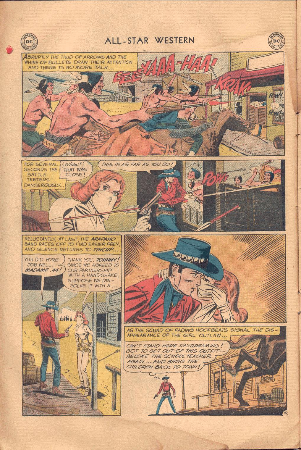 Read online All-Star Western (1951) comic -  Issue #117 - 13