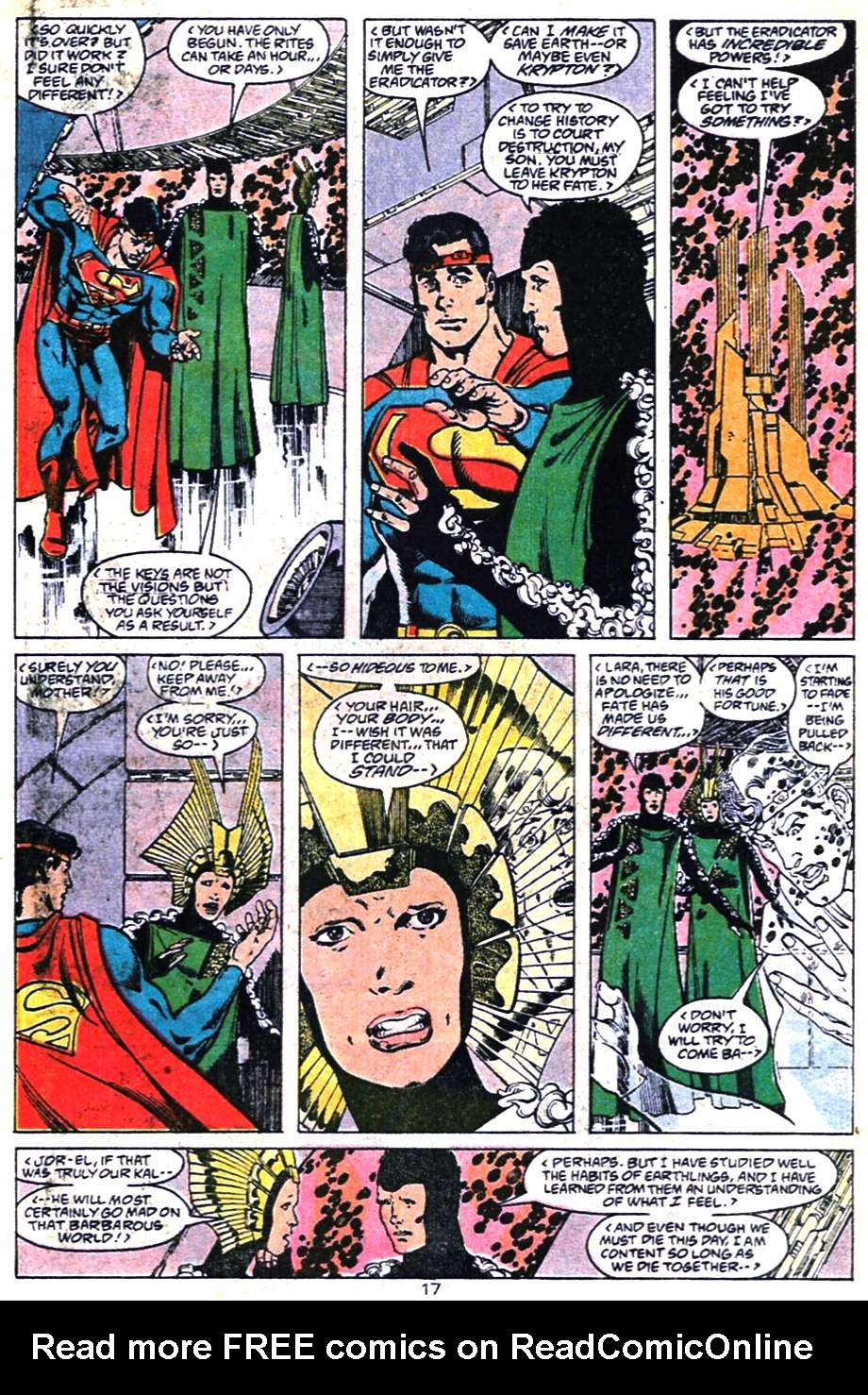 Read online Adventures of Superman (1987) comic -  Issue #461 - 18