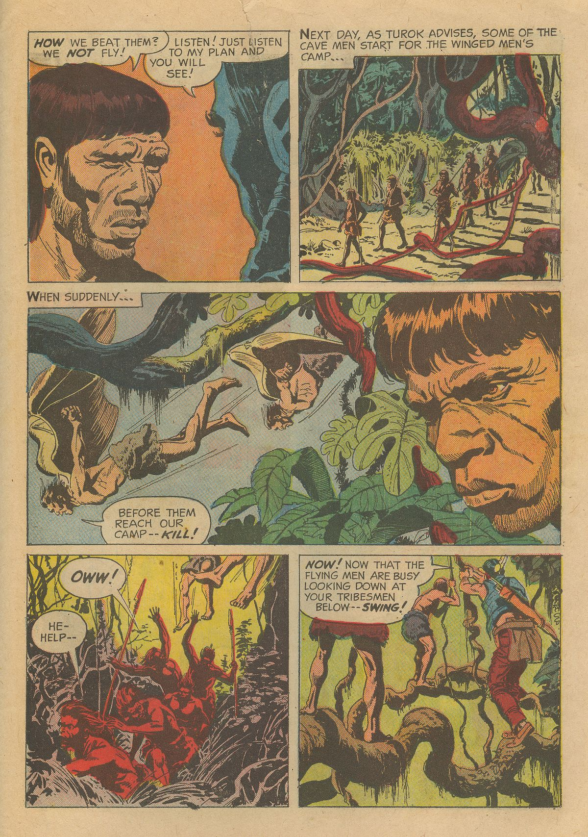 Read online Turok, Son of Stone comic -  Issue #54 - 31