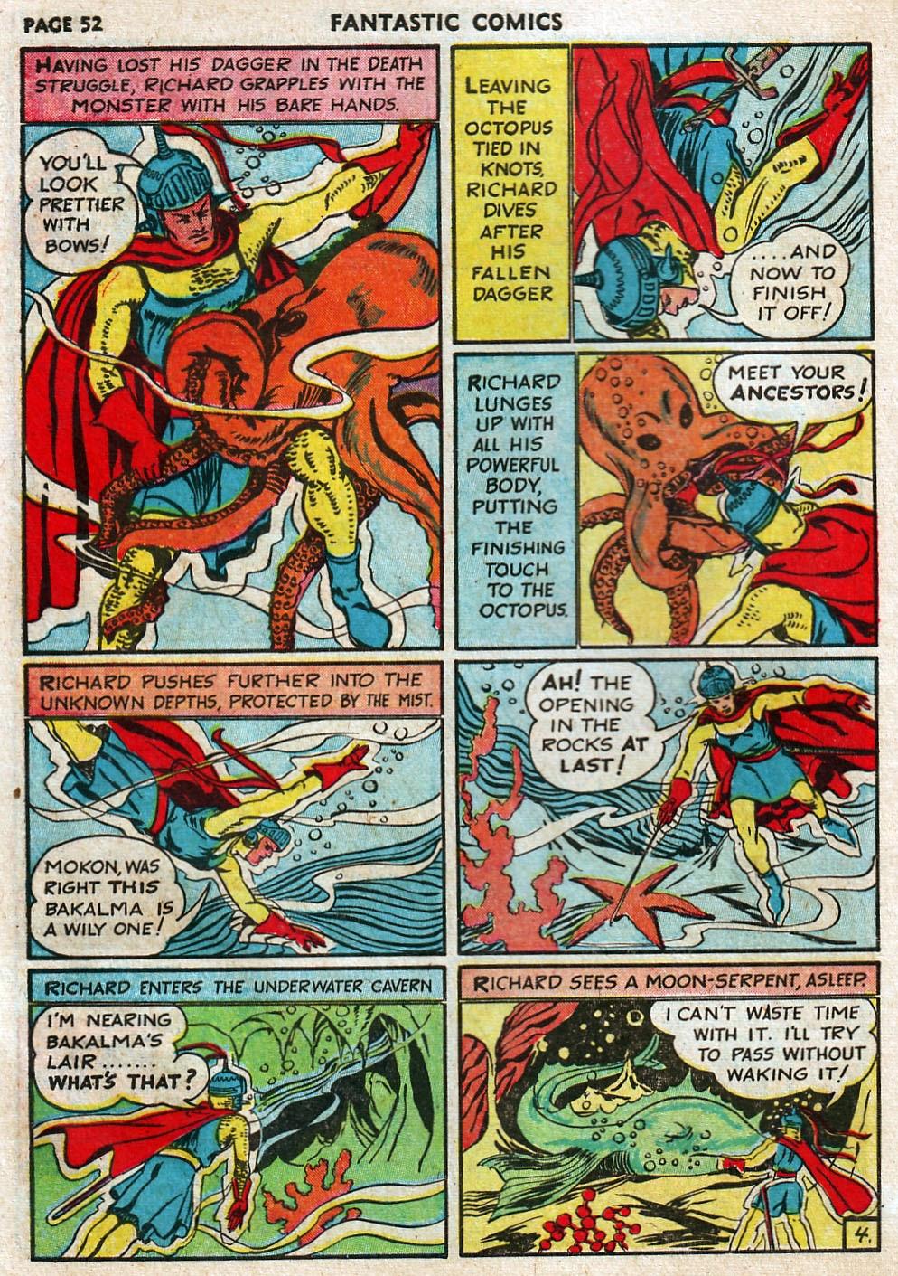 Read online Fantastic Comics comic -  Issue #17 - 53