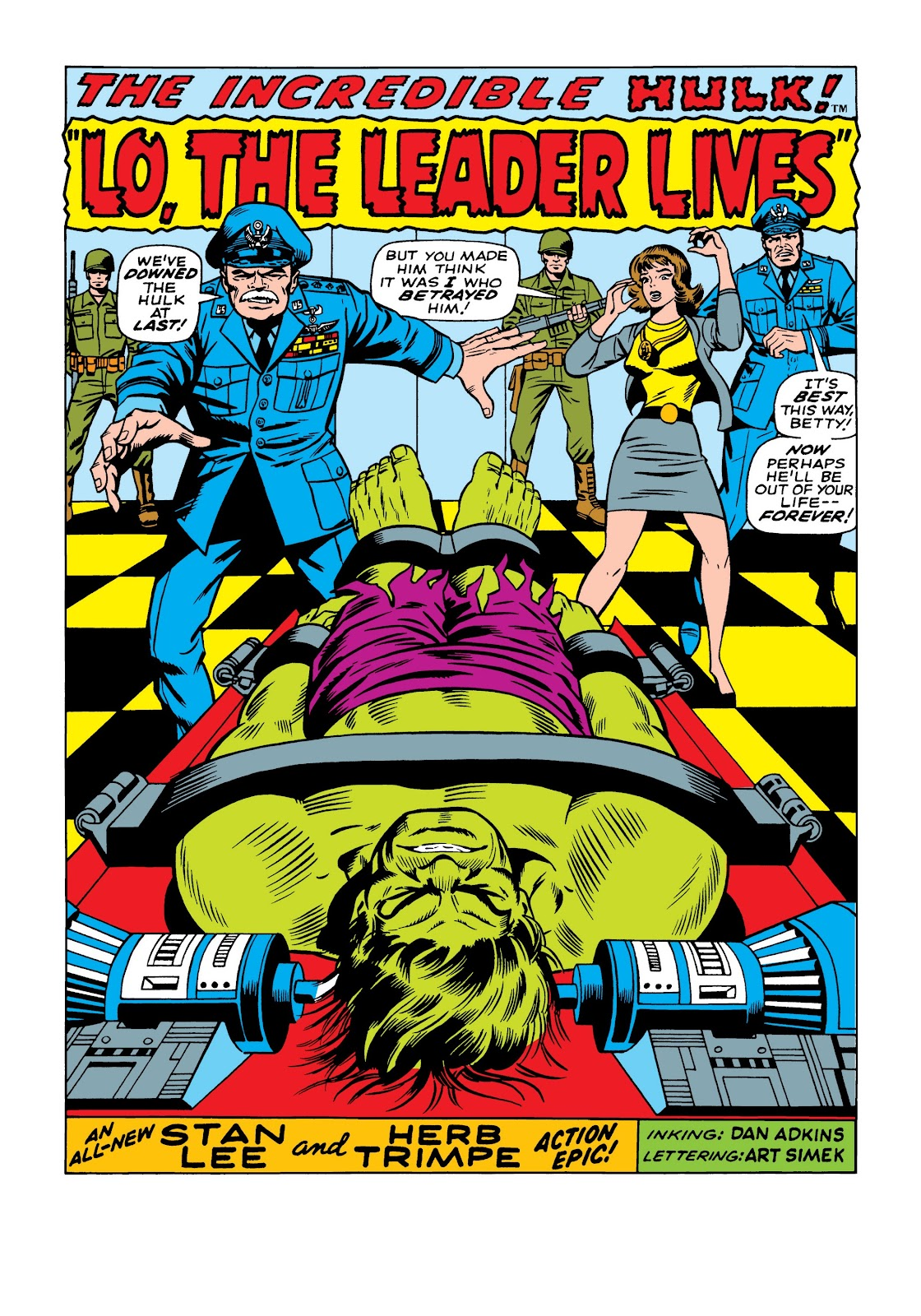 Read online Marvel Masterworks: The Incredible Hulk comic -  Issue # TPB 5 (Part 1) - 91