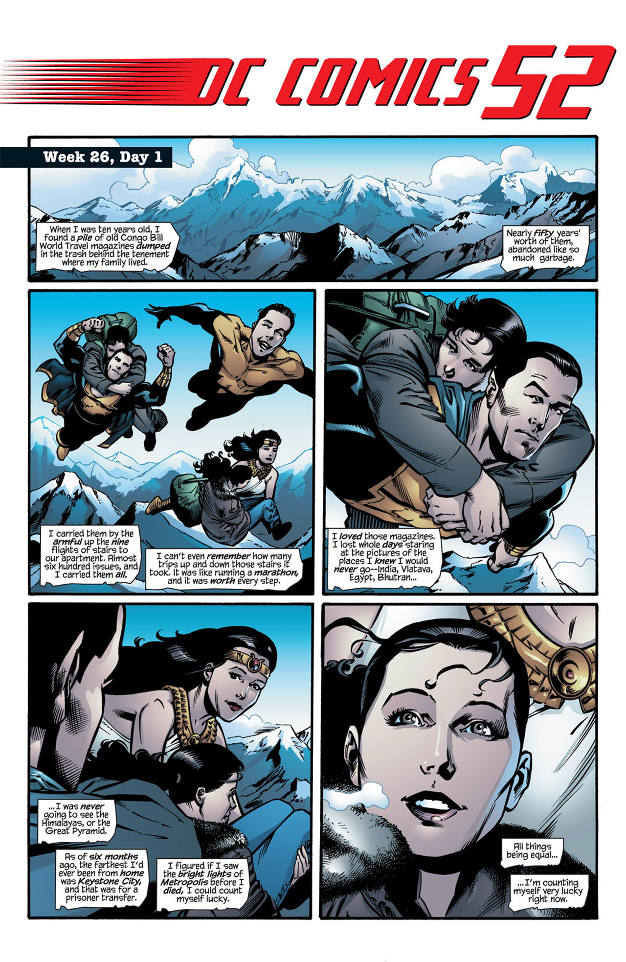 Read online 52 comic -  Issue #26 - 3