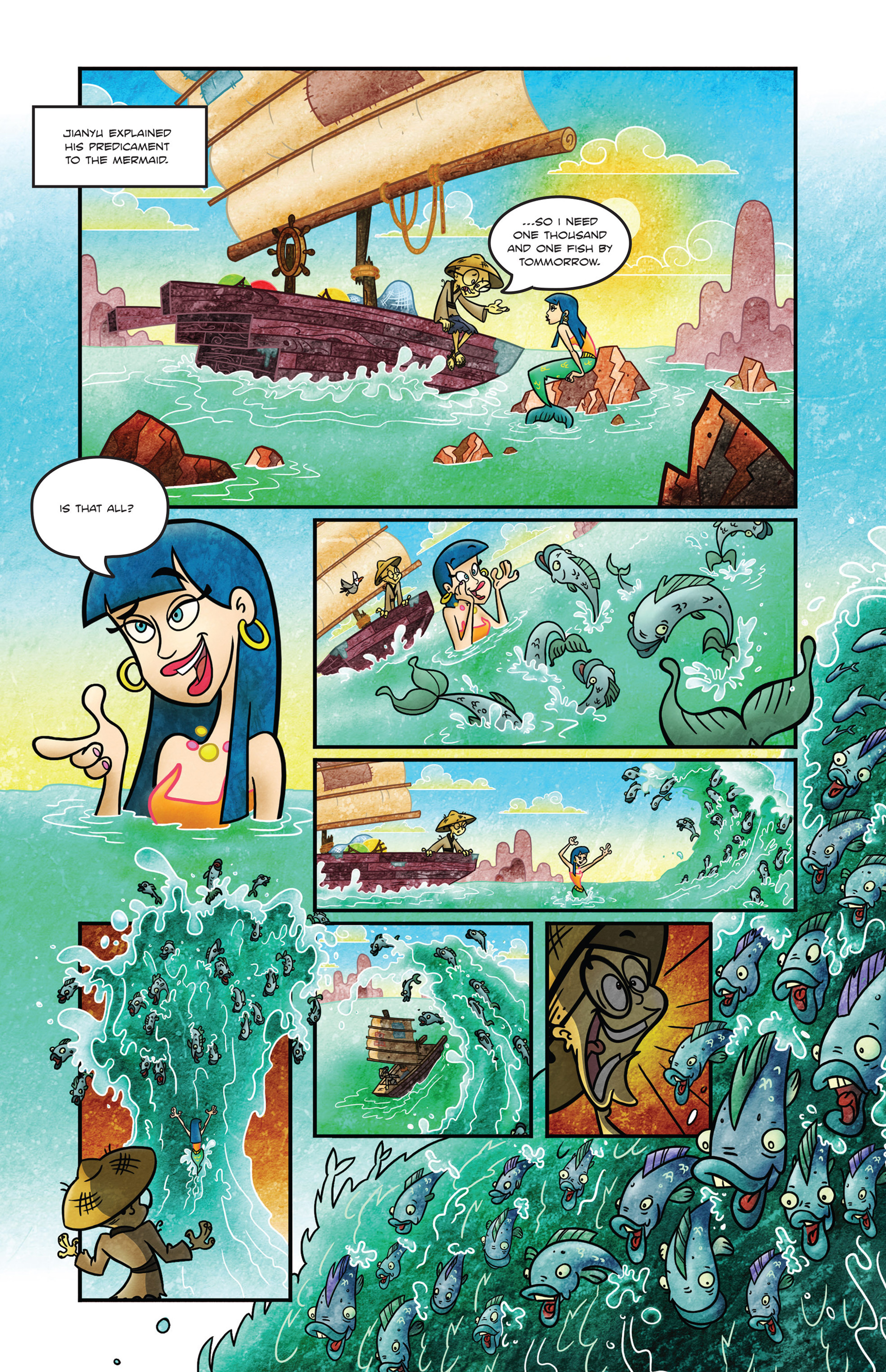Read online 1001 Nights comic -  Issue #1 - 12