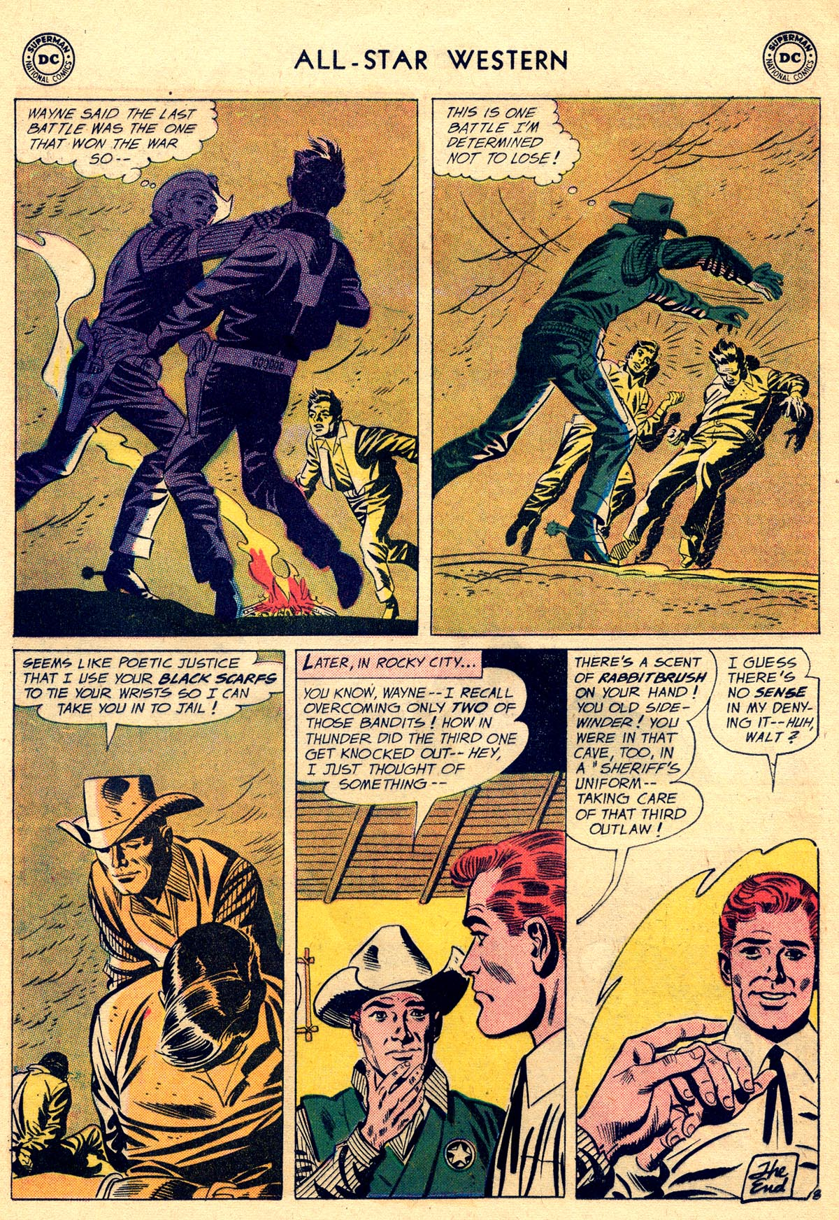 Read online All-Star Western (1951) comic -  Issue #109 - 32