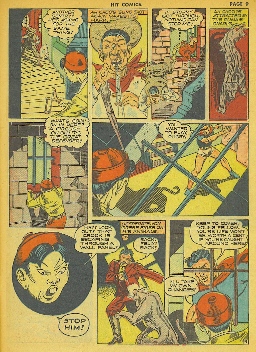 Read online Hit Comics comic -  Issue #21 - 11