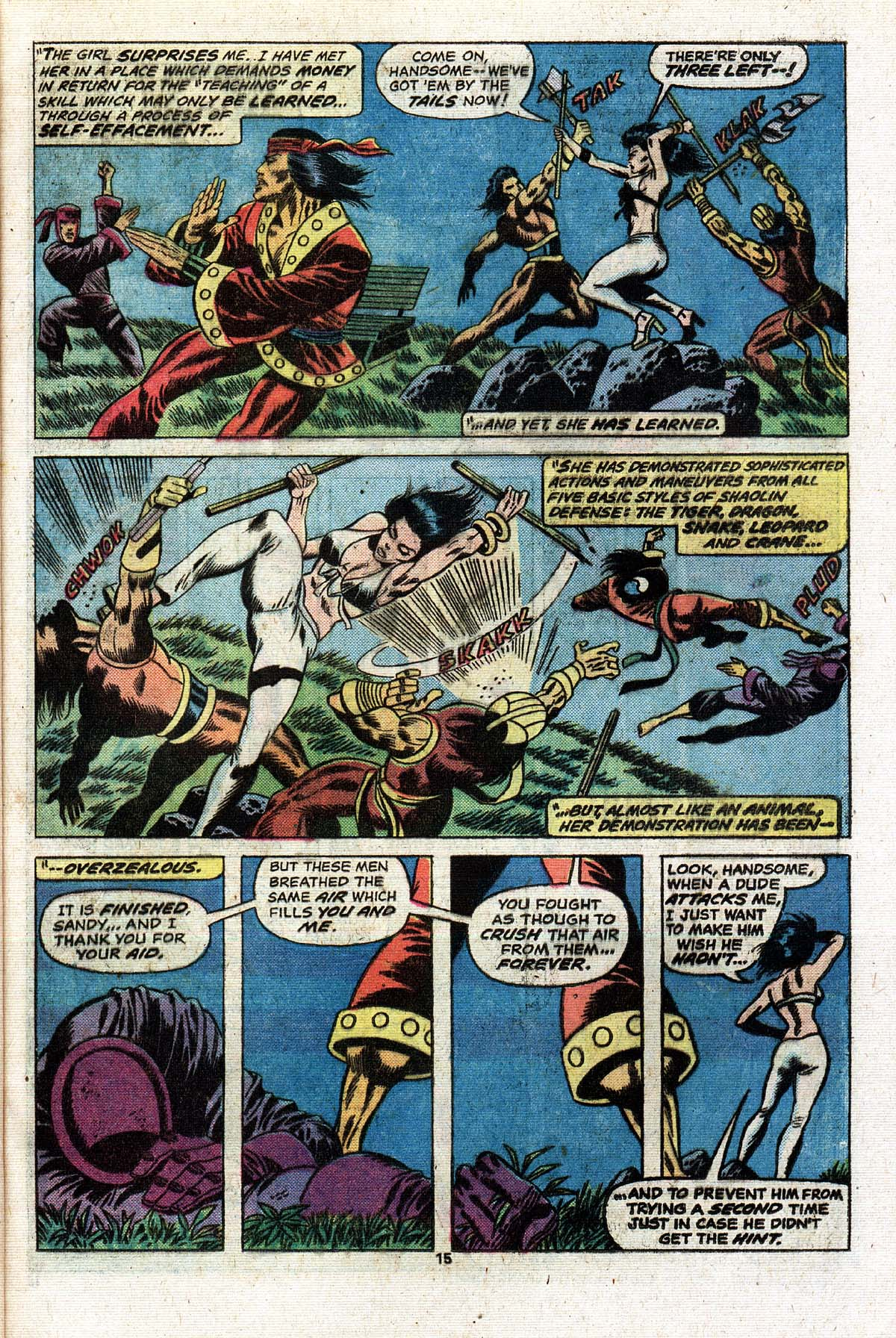 Read online Giant-Size Master of Kung Fu comic -  Issue #2 - 13