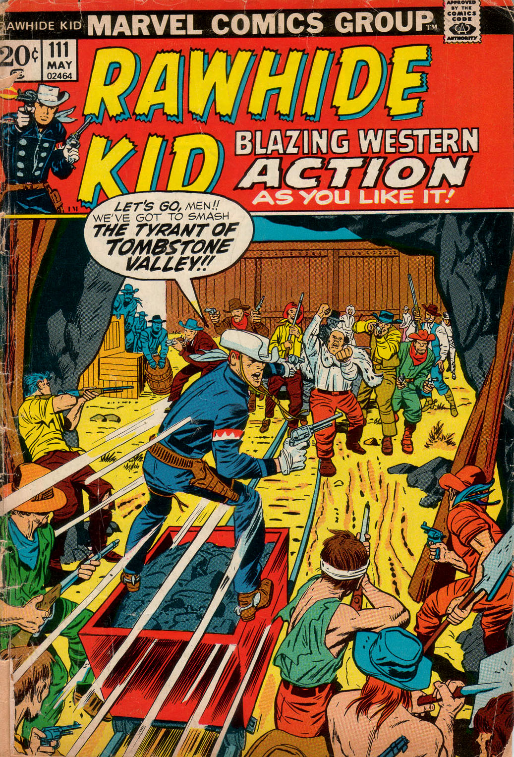 The Rawhide Kid (1955) issue 111 - Page 1