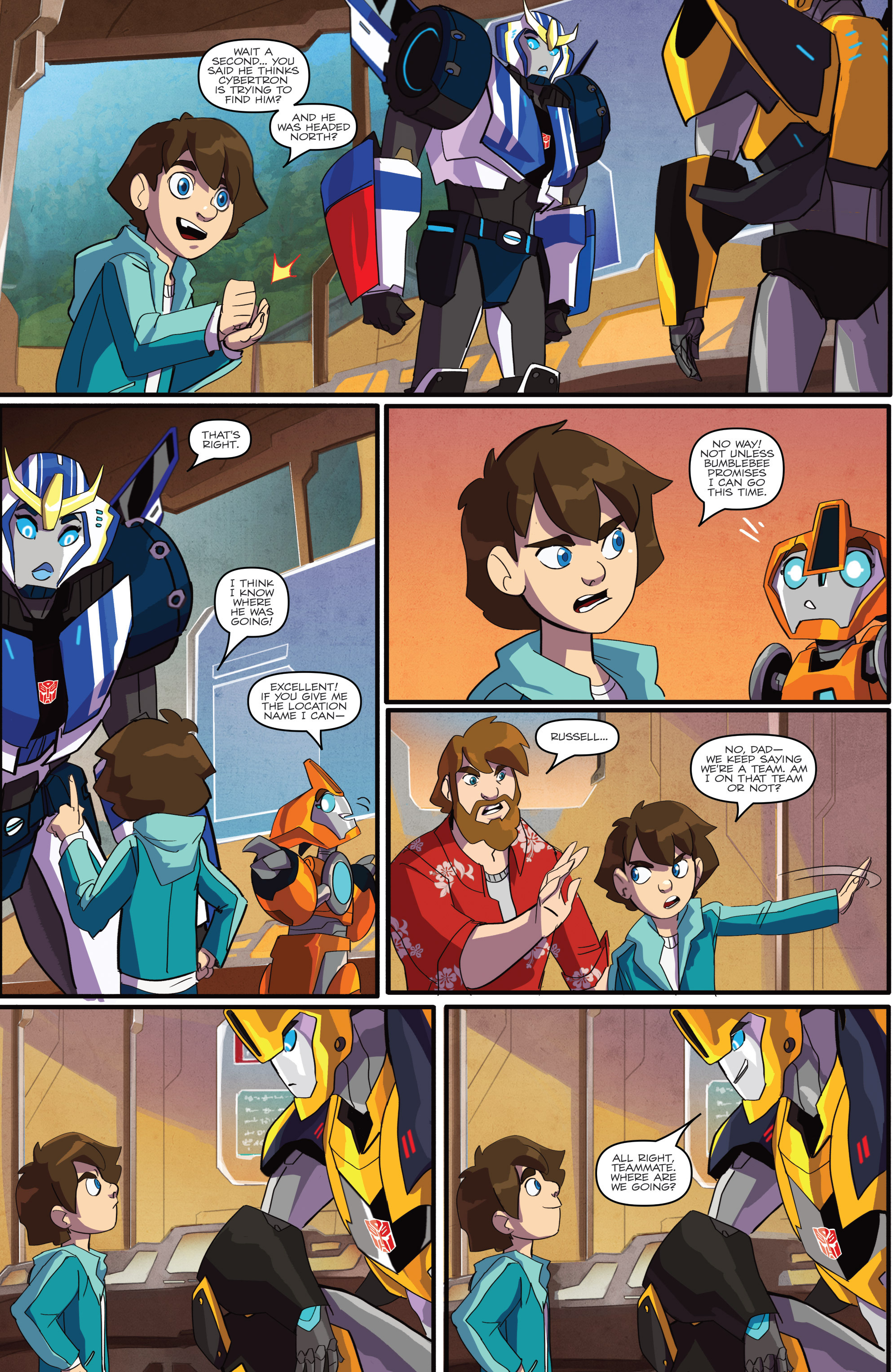 Read online Transformers: Robots In Disguise (2015) comic -  Issue #1 - 14