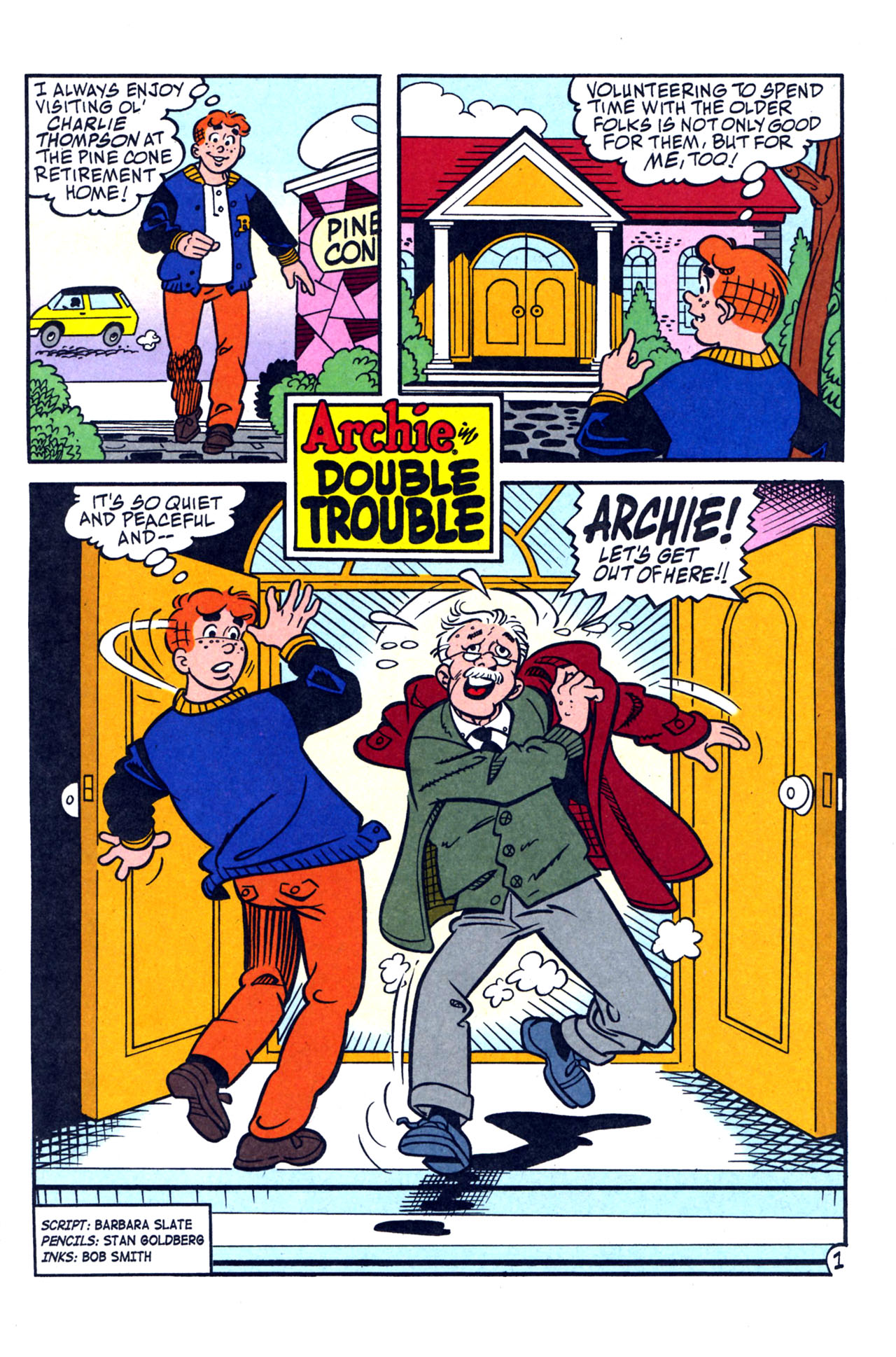 Read online Archie (1960) comic -  Issue #579 - 13