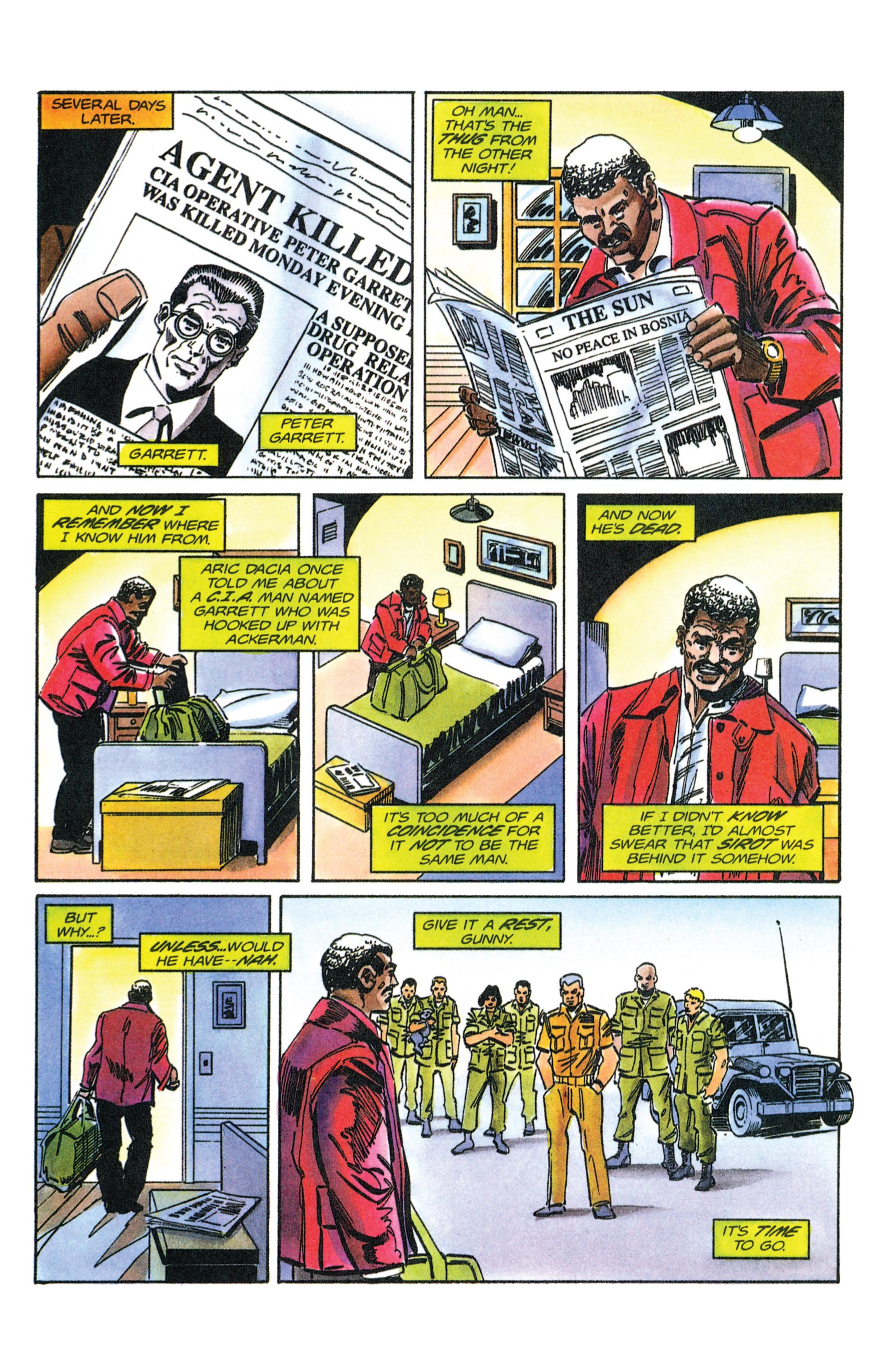 Read online Armorines comic -  Issue #12 - 20