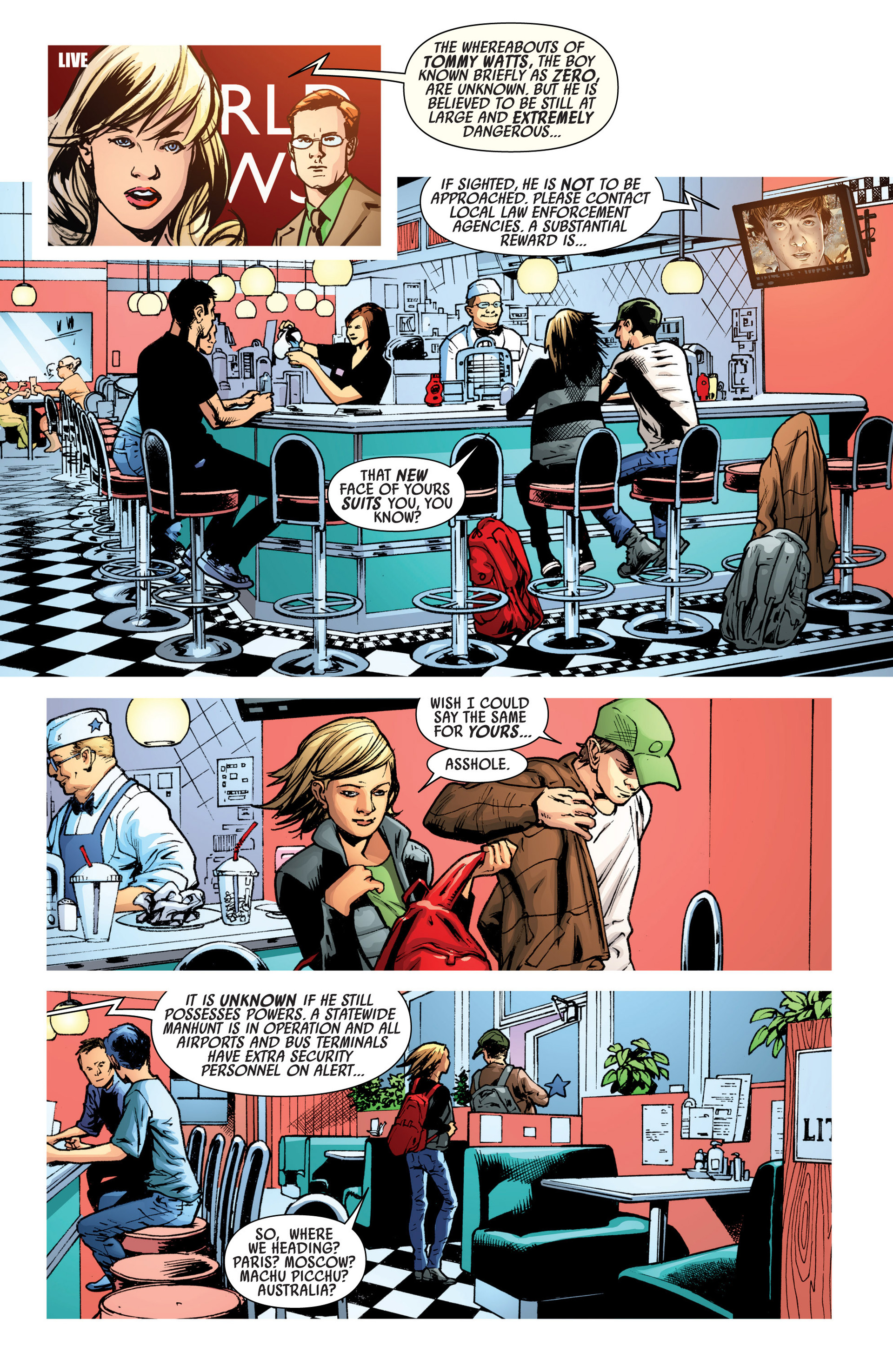 Read online America's Got Powers comic -  Issue #7 - 24
