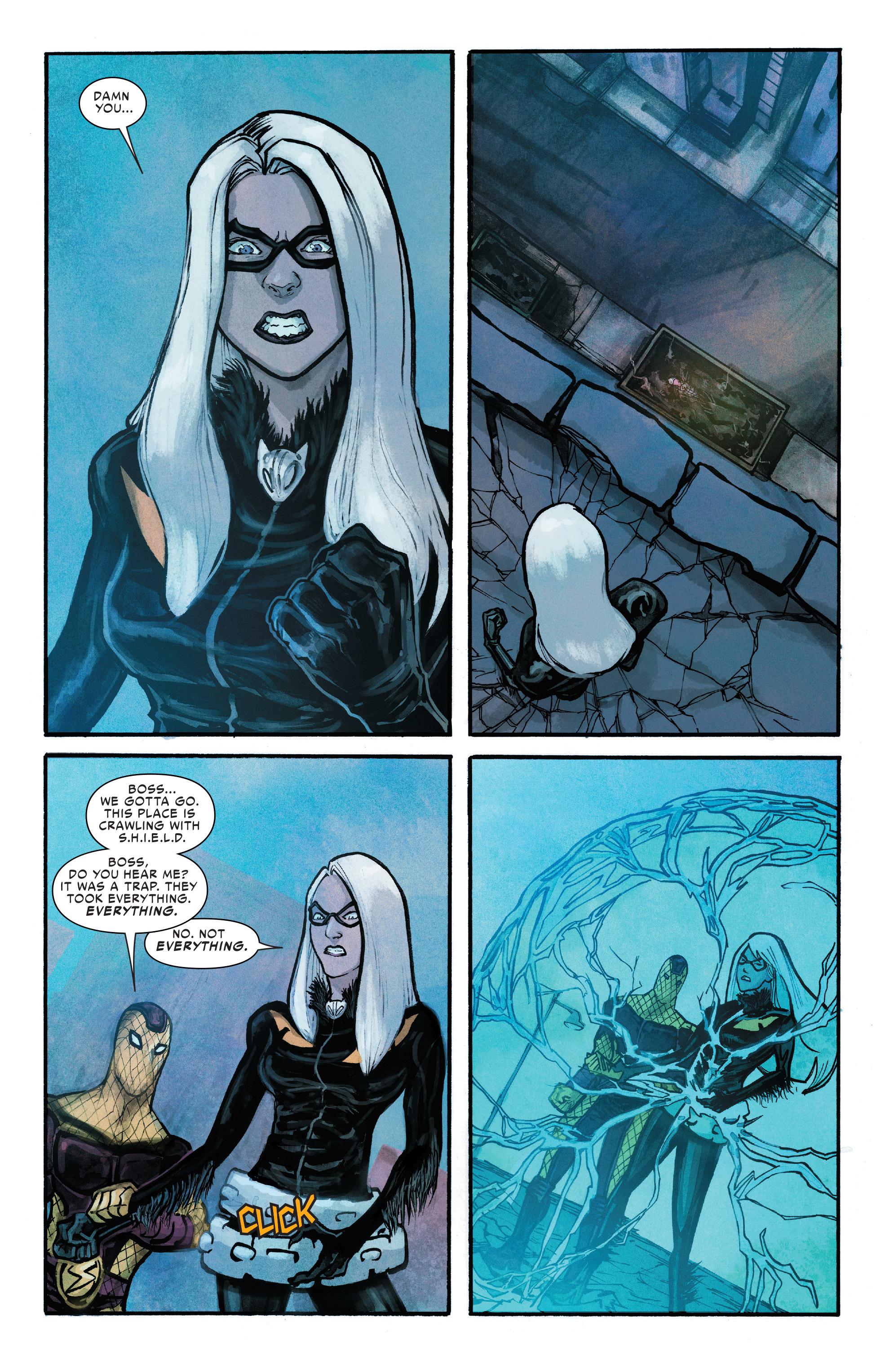 Read online Silk (2016) comic -  Issue #10 - 19