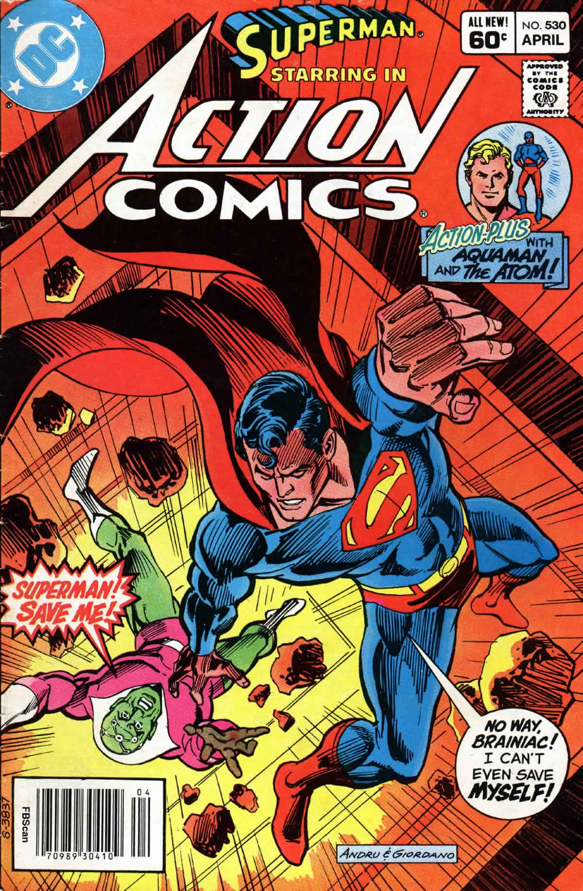 Read online Action Comics (1938) comic -  Issue #530 - 1