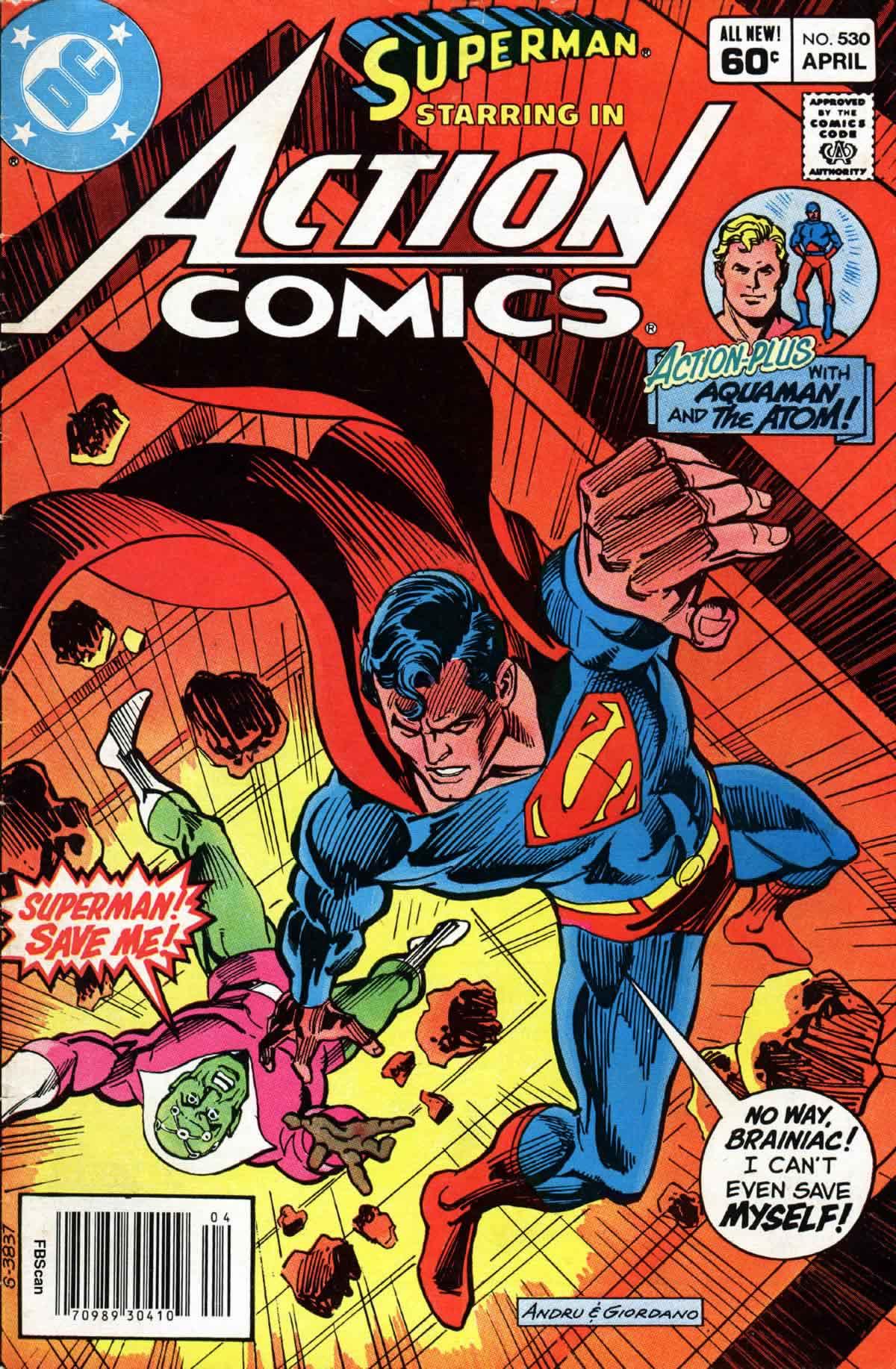 Action Comics (1938) 530 Page 1
