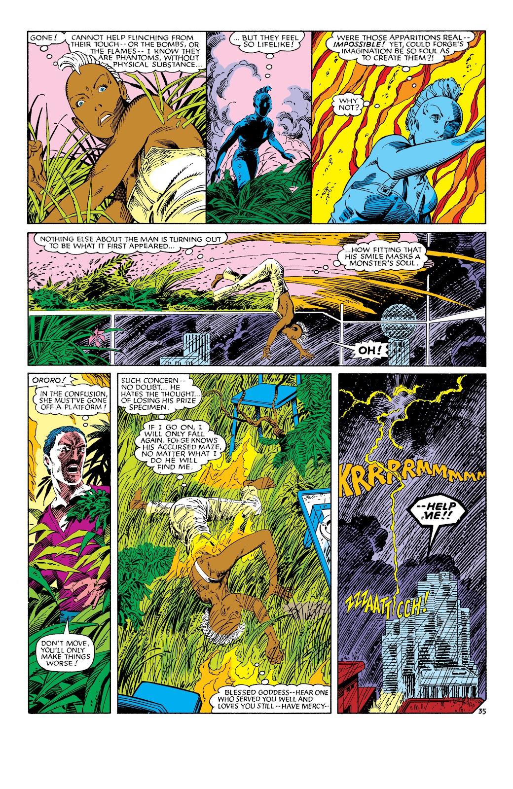 Uncanny X-Men (1963) issue 186 - Page 36