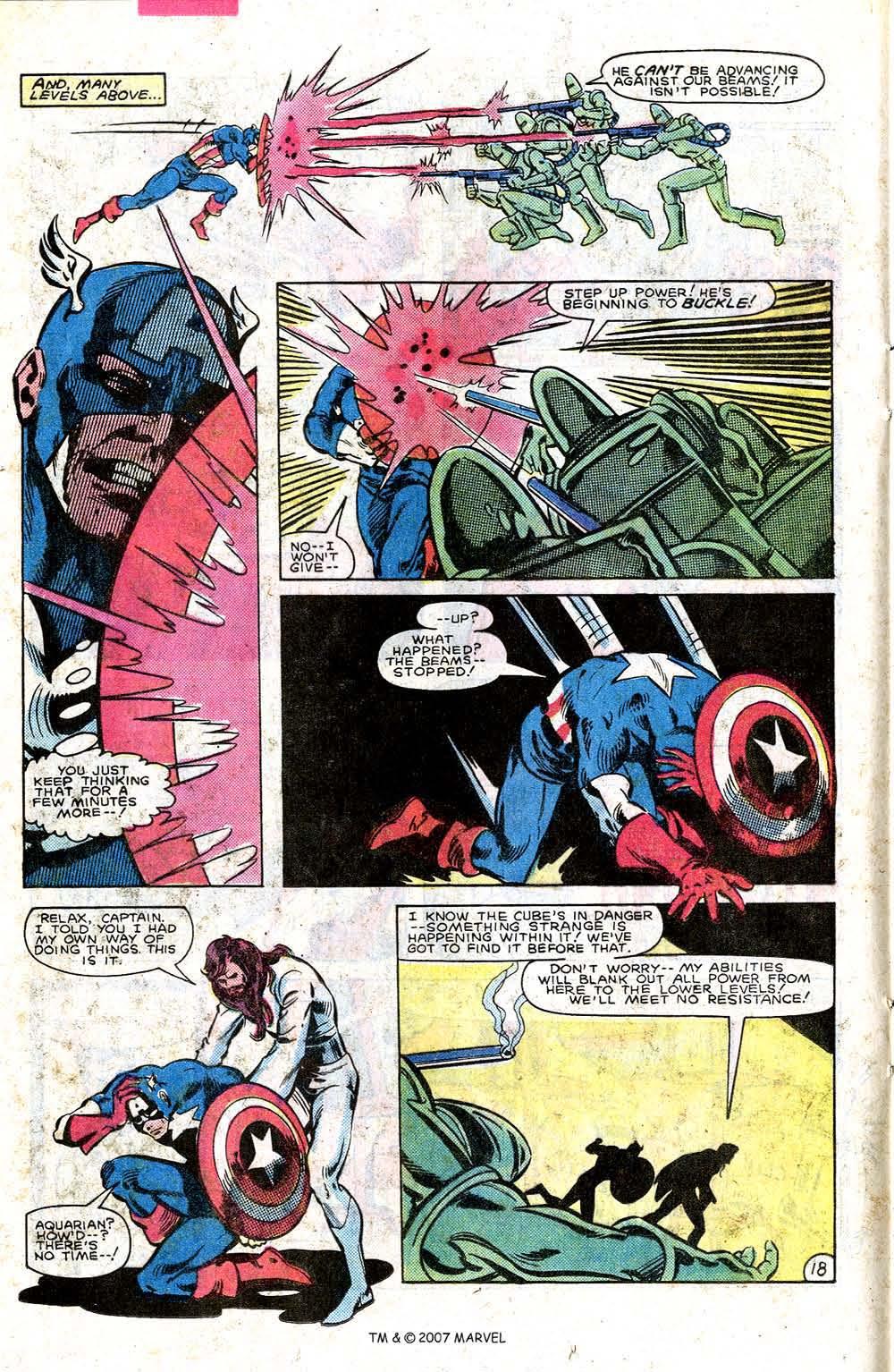Read online Captain America (1968) comic -  Issue # _Annual 7 - 24