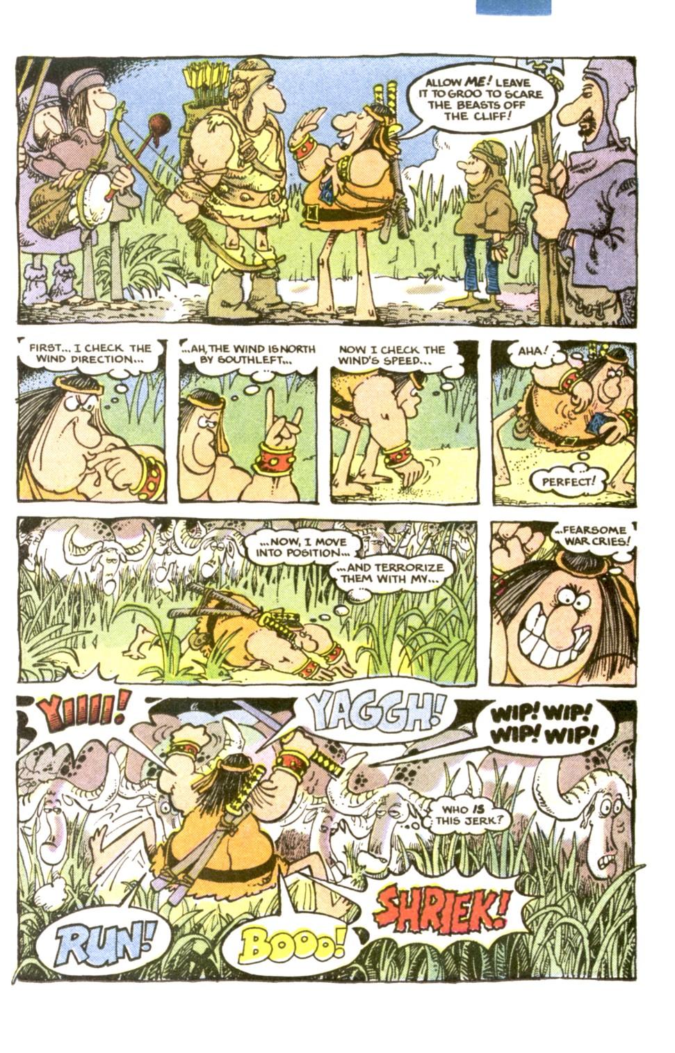Read online Sergio Aragonés Groo the Wanderer comic -  Issue #1 - 7