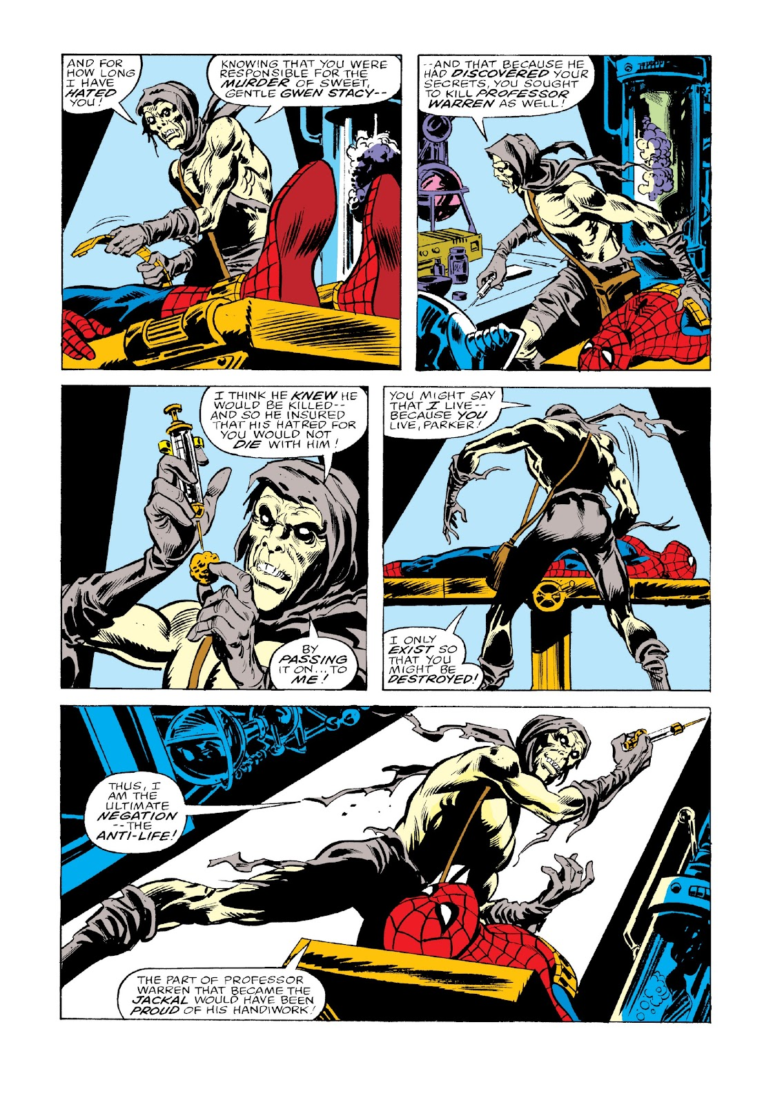 Read online Marvel Masterworks: The Spectacular Spider-Man comic -  Issue # TPB 2 (Part 3) - 77