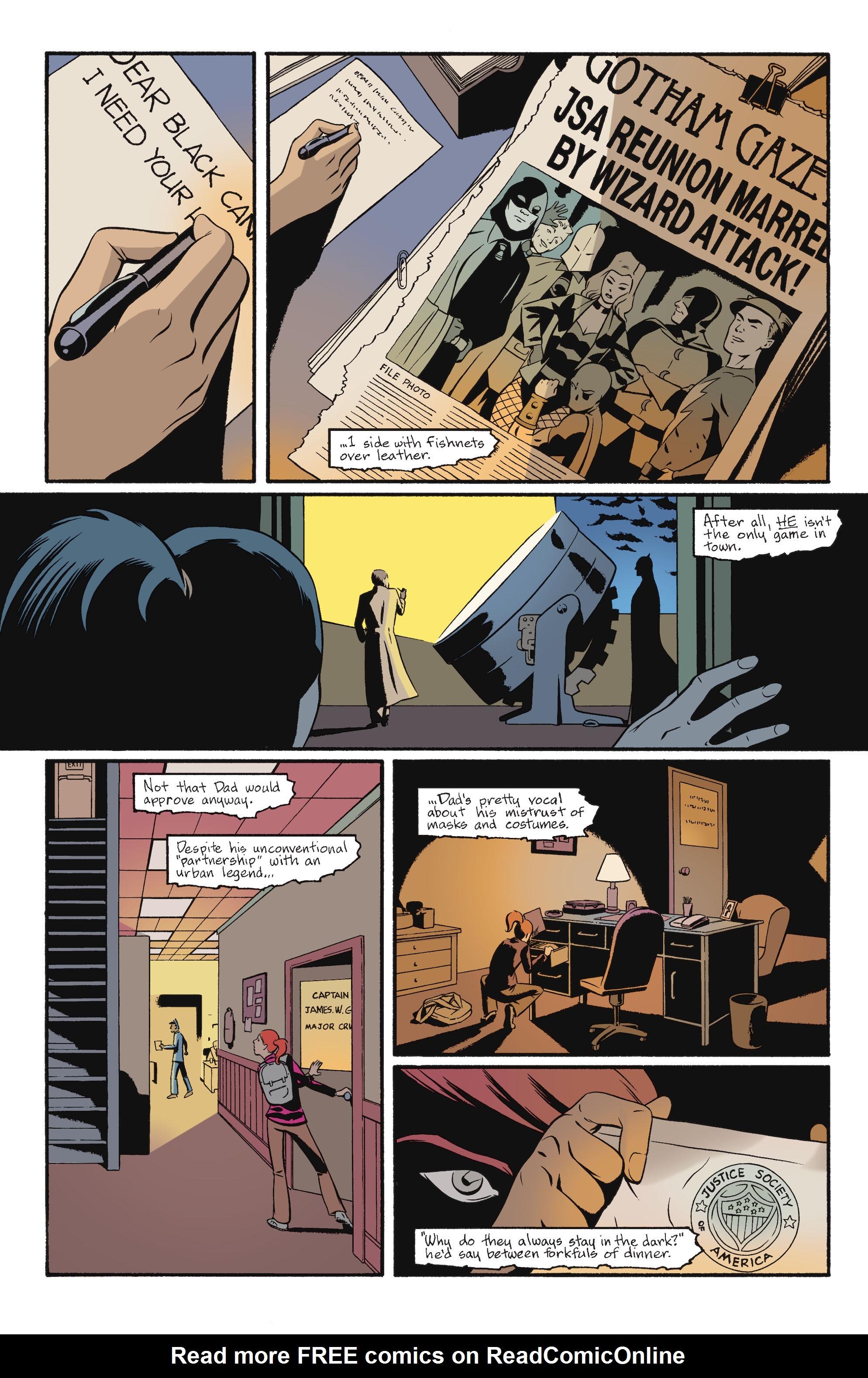 Read online Batgirl/Robin: Year One comic -  Issue # TPB 2 - 7