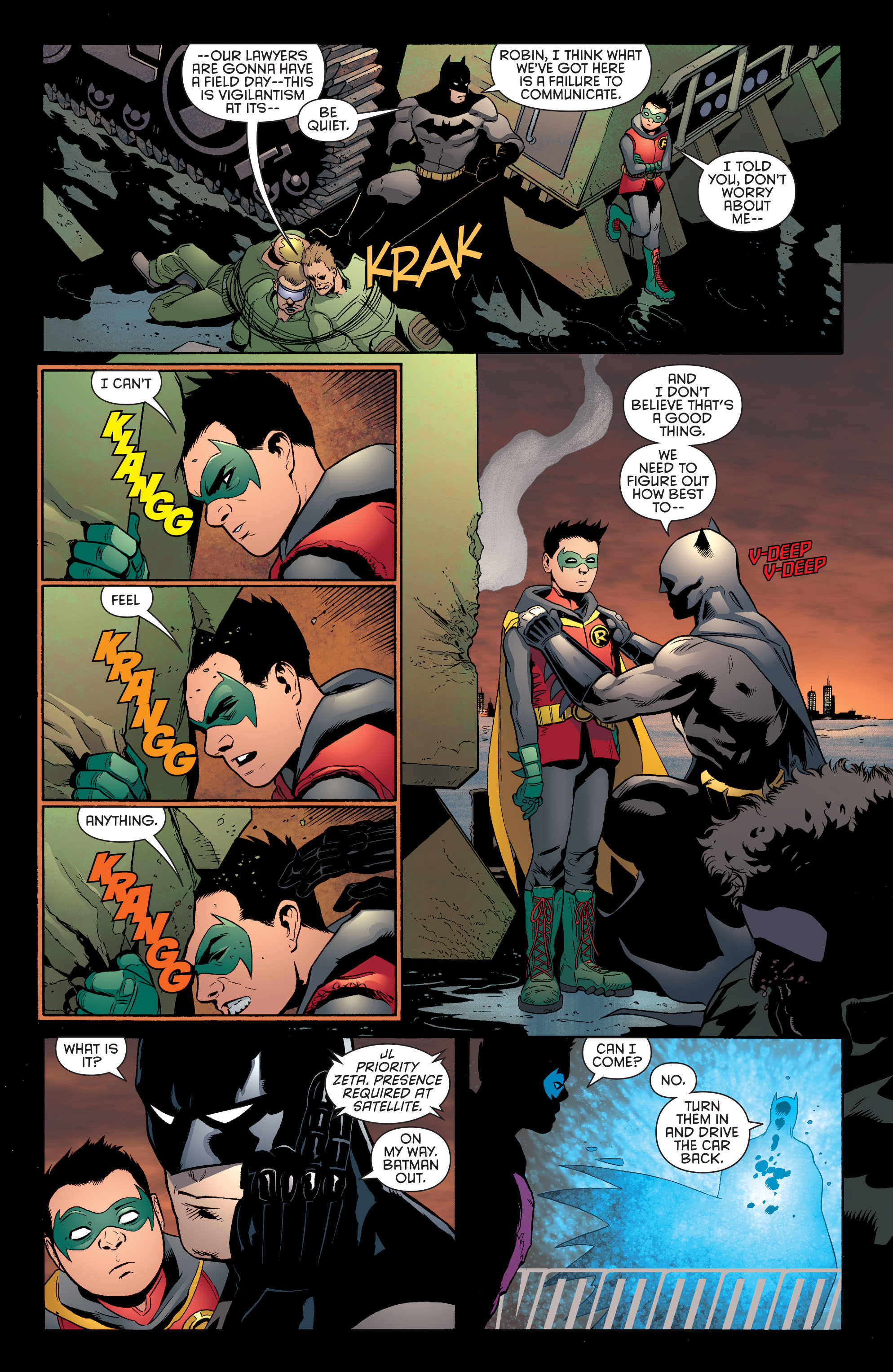 Read online Batman and Robin (2011) comic -  Issue #39 - 14