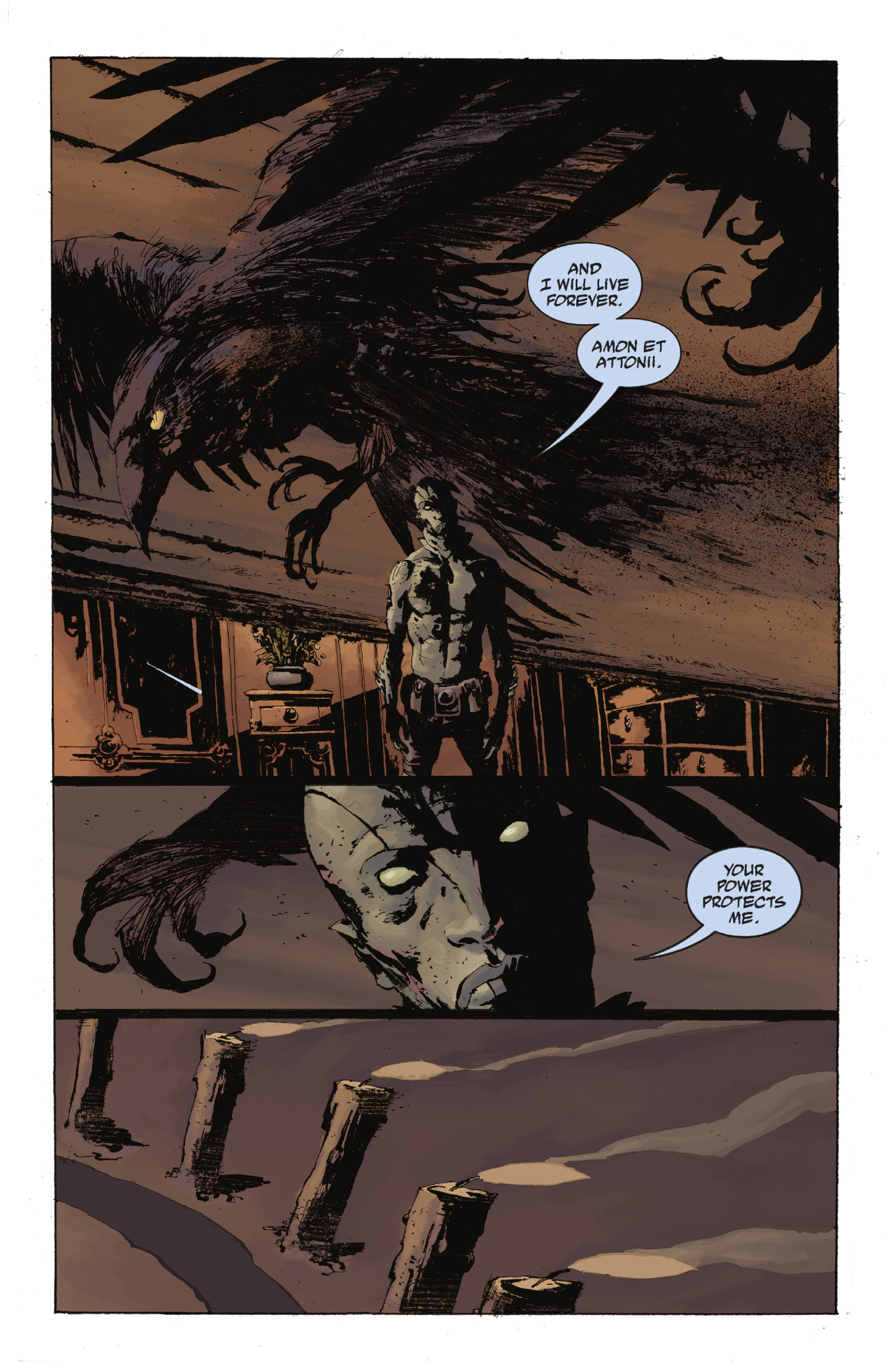 Read online Abe Sapien: The Drowning comic -  Issue #Abe Sapien: The Drowning _TPB - 89