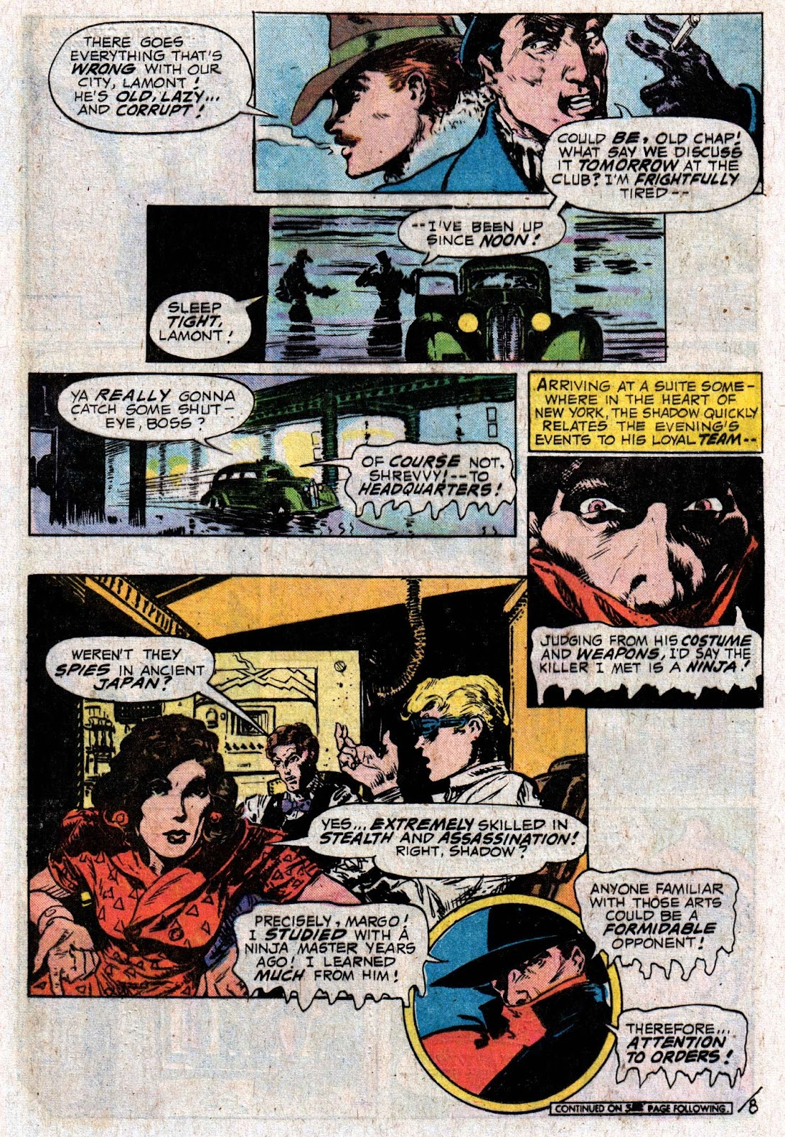 The Shadow (1973) issue 6 - Page 12