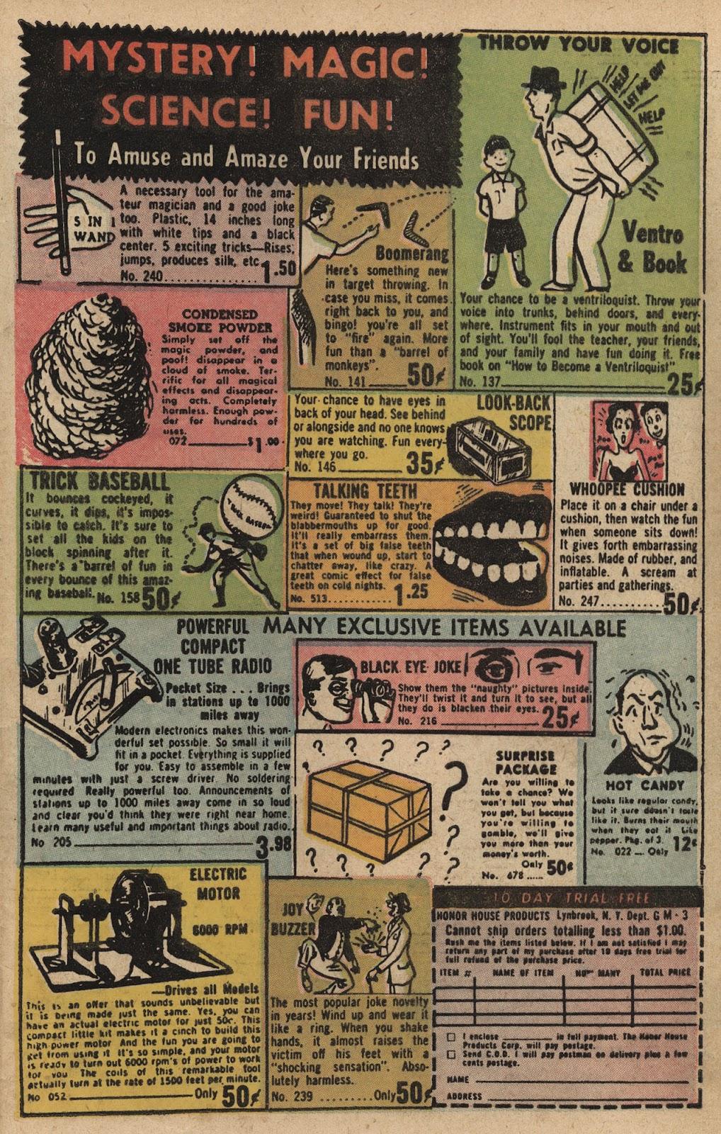 Love Romances (1949) issue 66 - Page 33