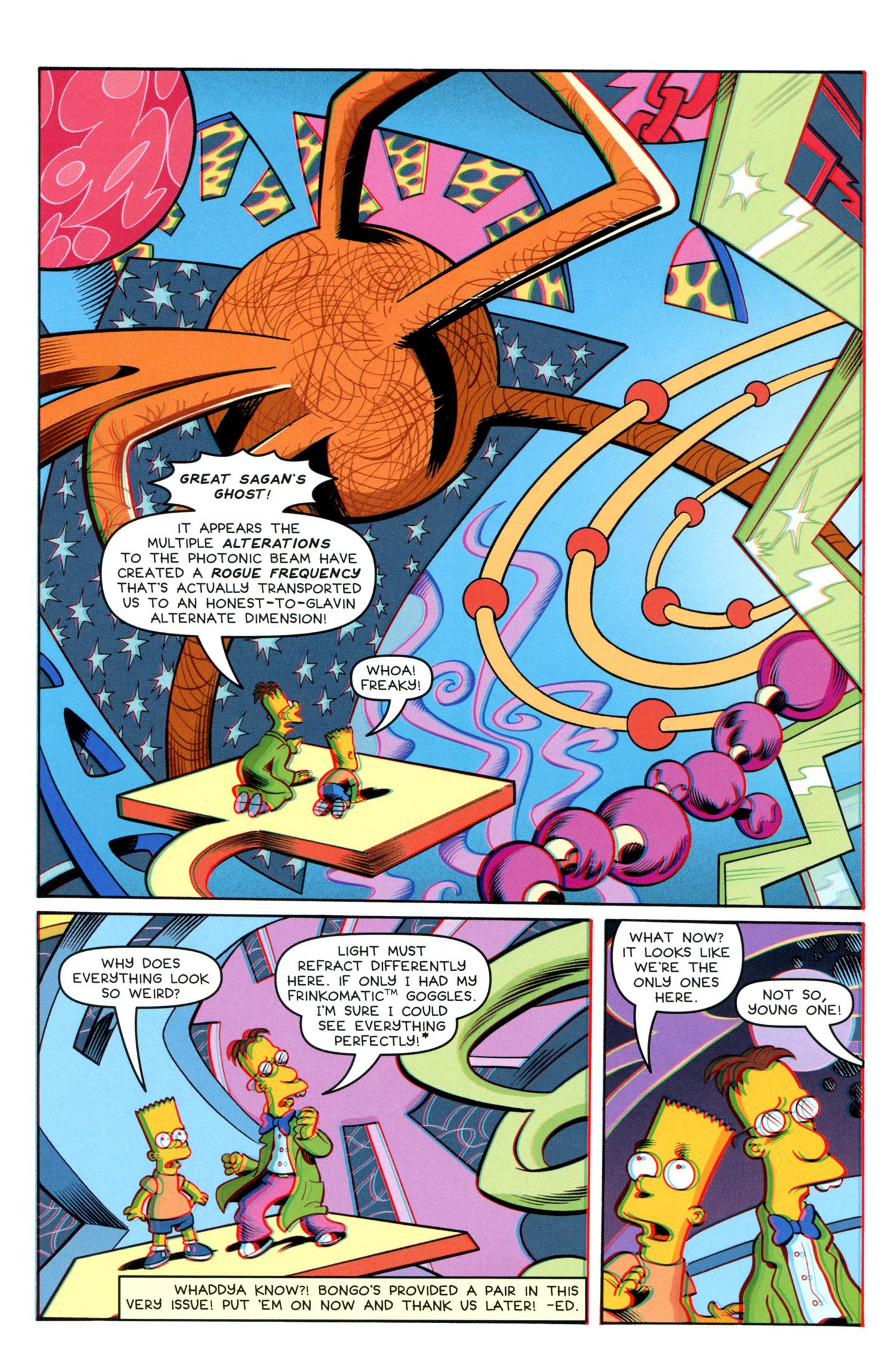 Read online Simpsons One-Shot Wonders: Professor Frink comic -  Issue # Full - 24